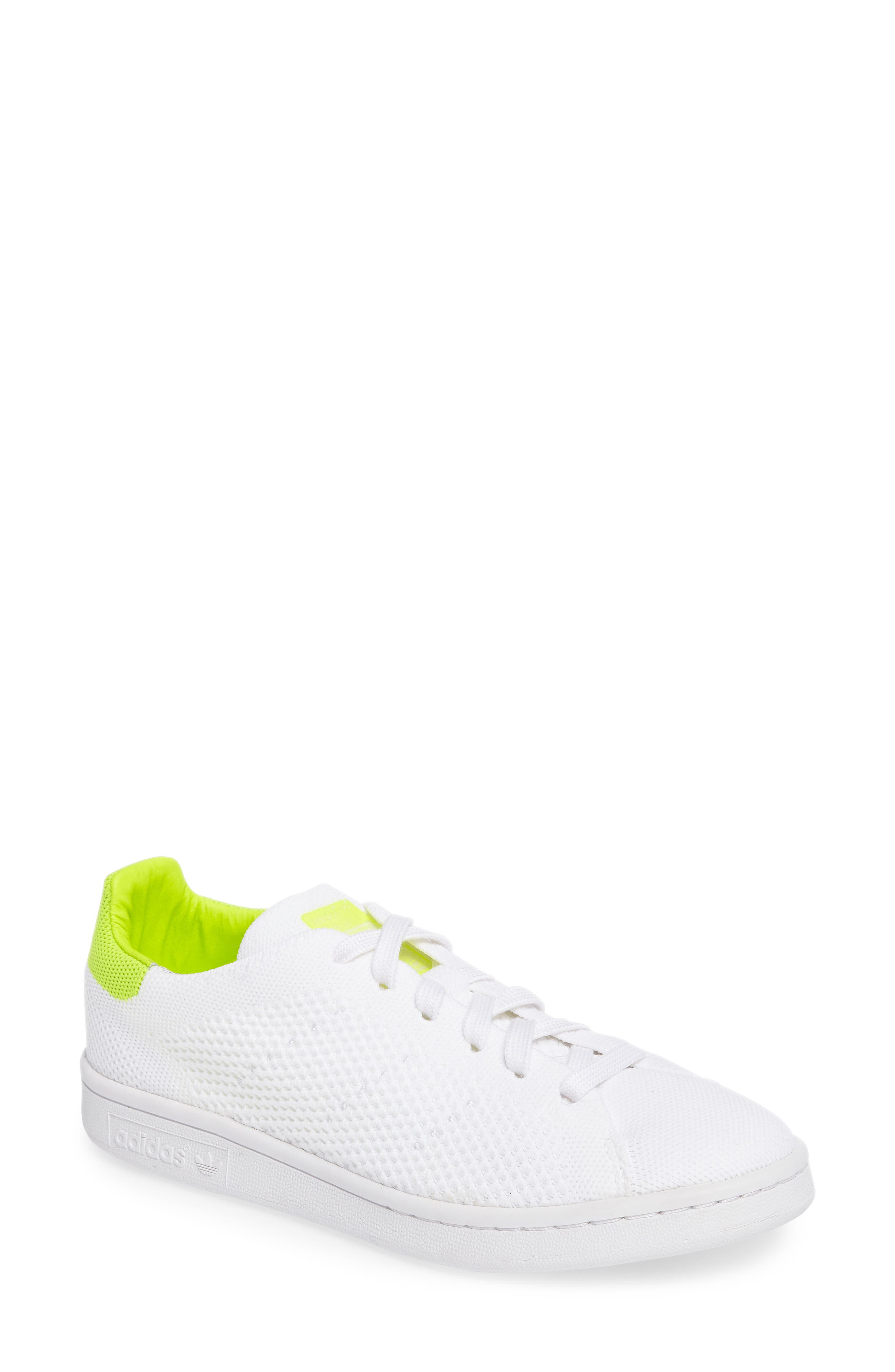 Alternate Image 1 Selected - adidas Stan Smith - Primeknit Sneaker (Women)