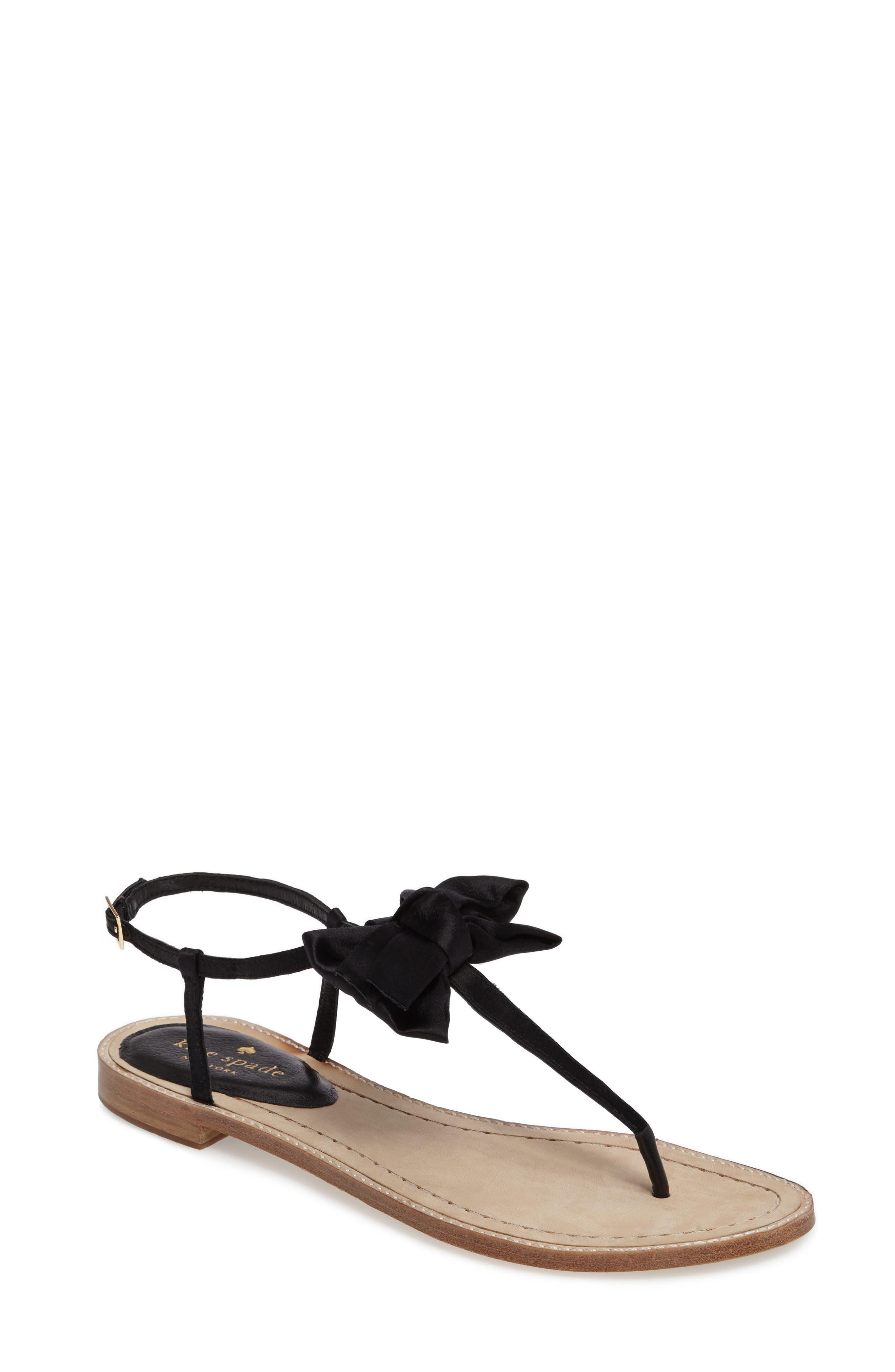Alternate Image 1 Selected - kate spade new york serrano bow sandal (Women)