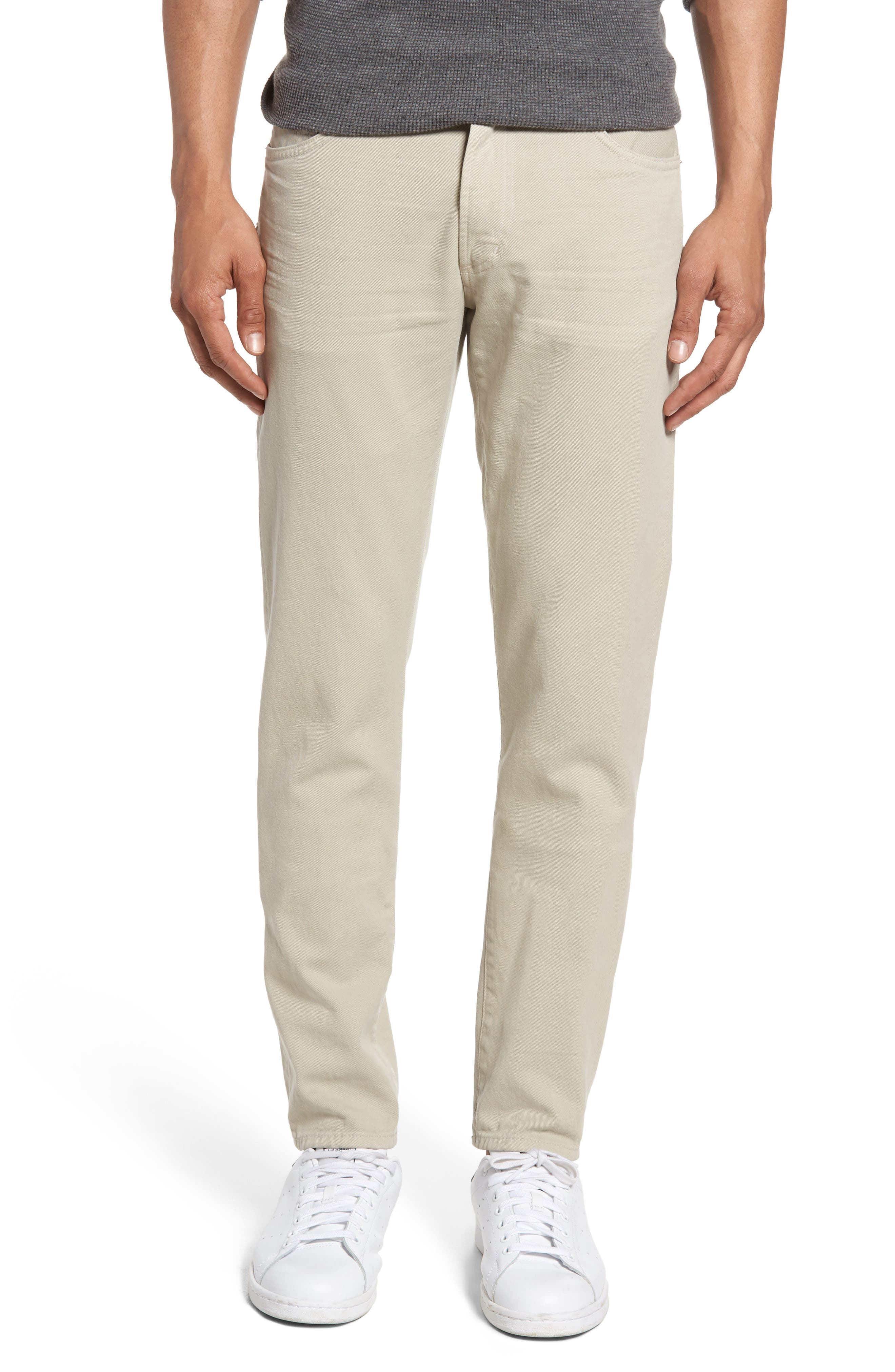 Citizens of Humanity Noah Skinny Fit Jeans (Parchment)
