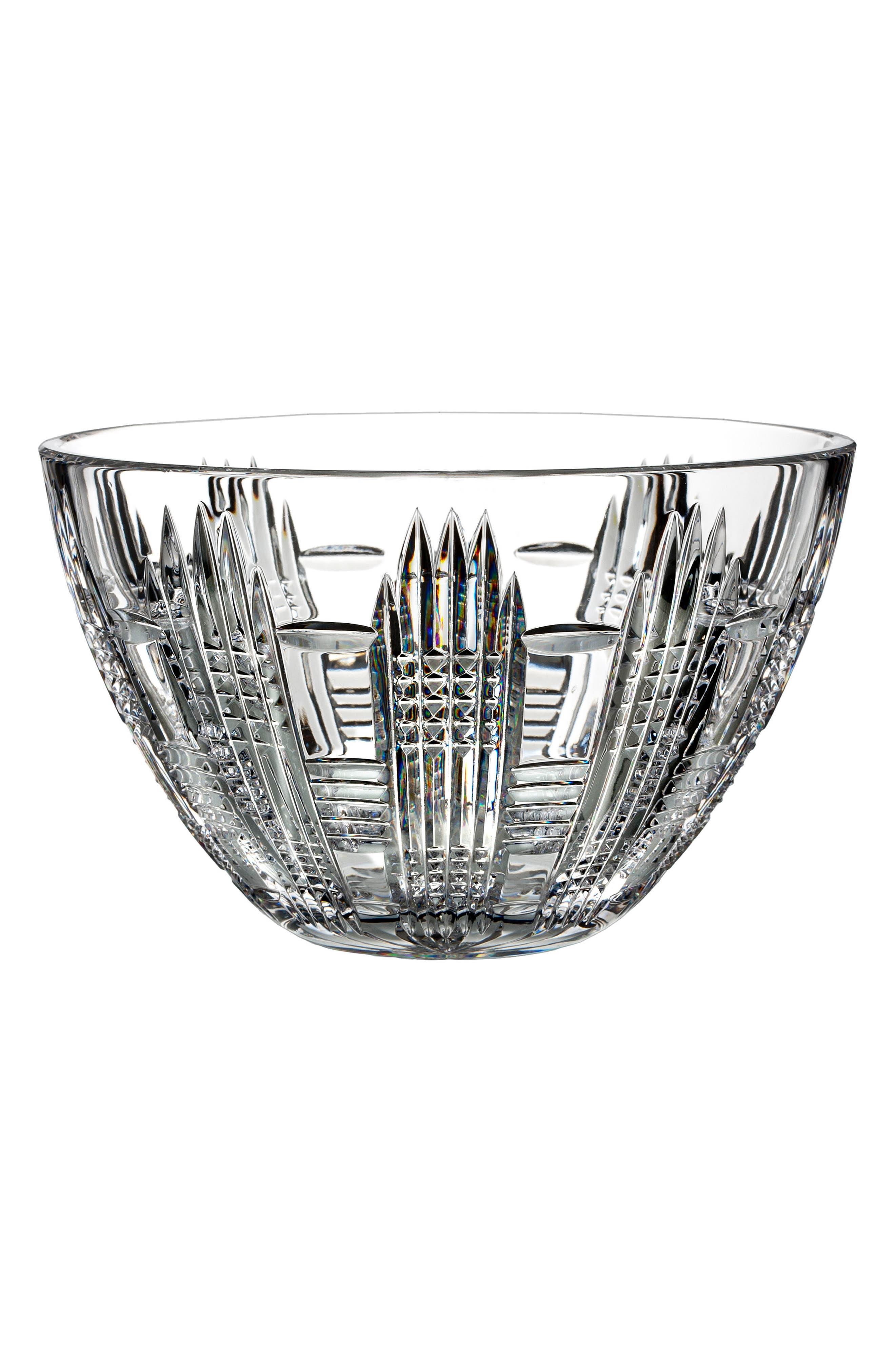 Dungarvan Lead Crystal Bowl,                         Main,                         color, Crystal