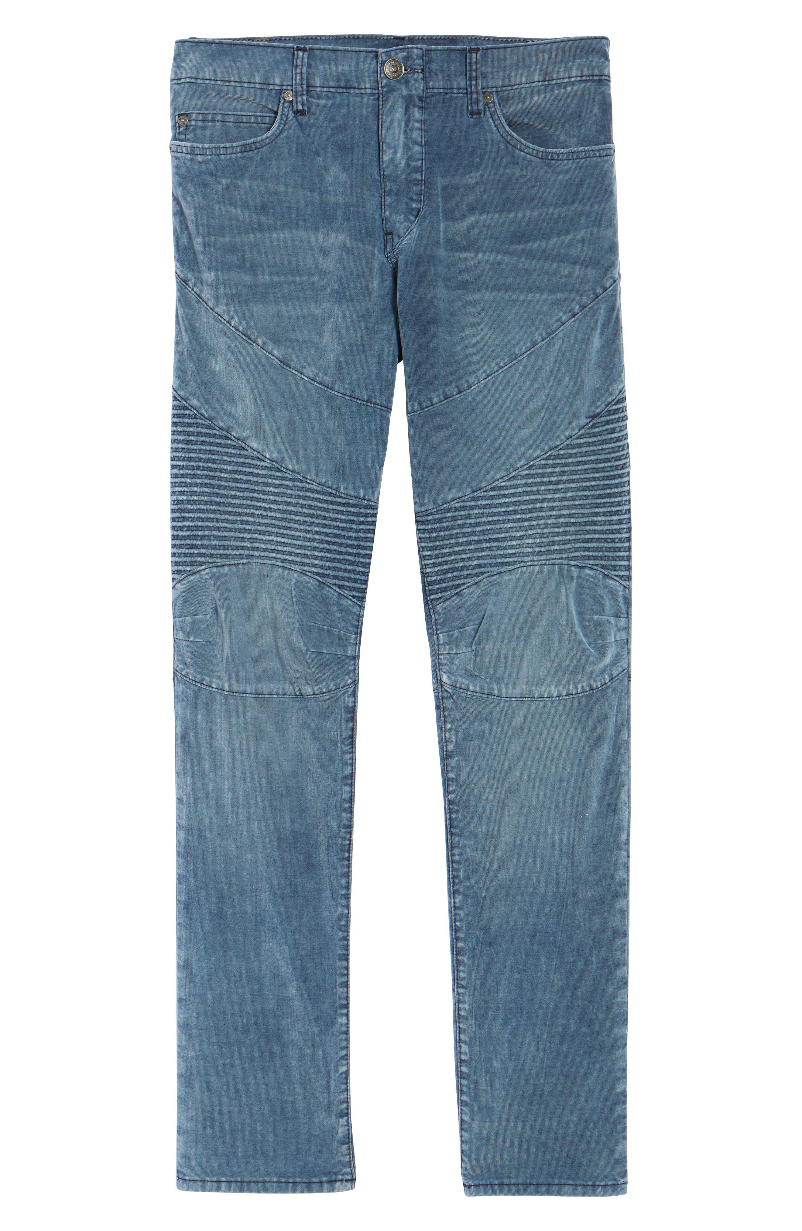 Alternate Image 6  - True Religion Brand Jeans Geno Straight Leg Corduroy Moto Pants