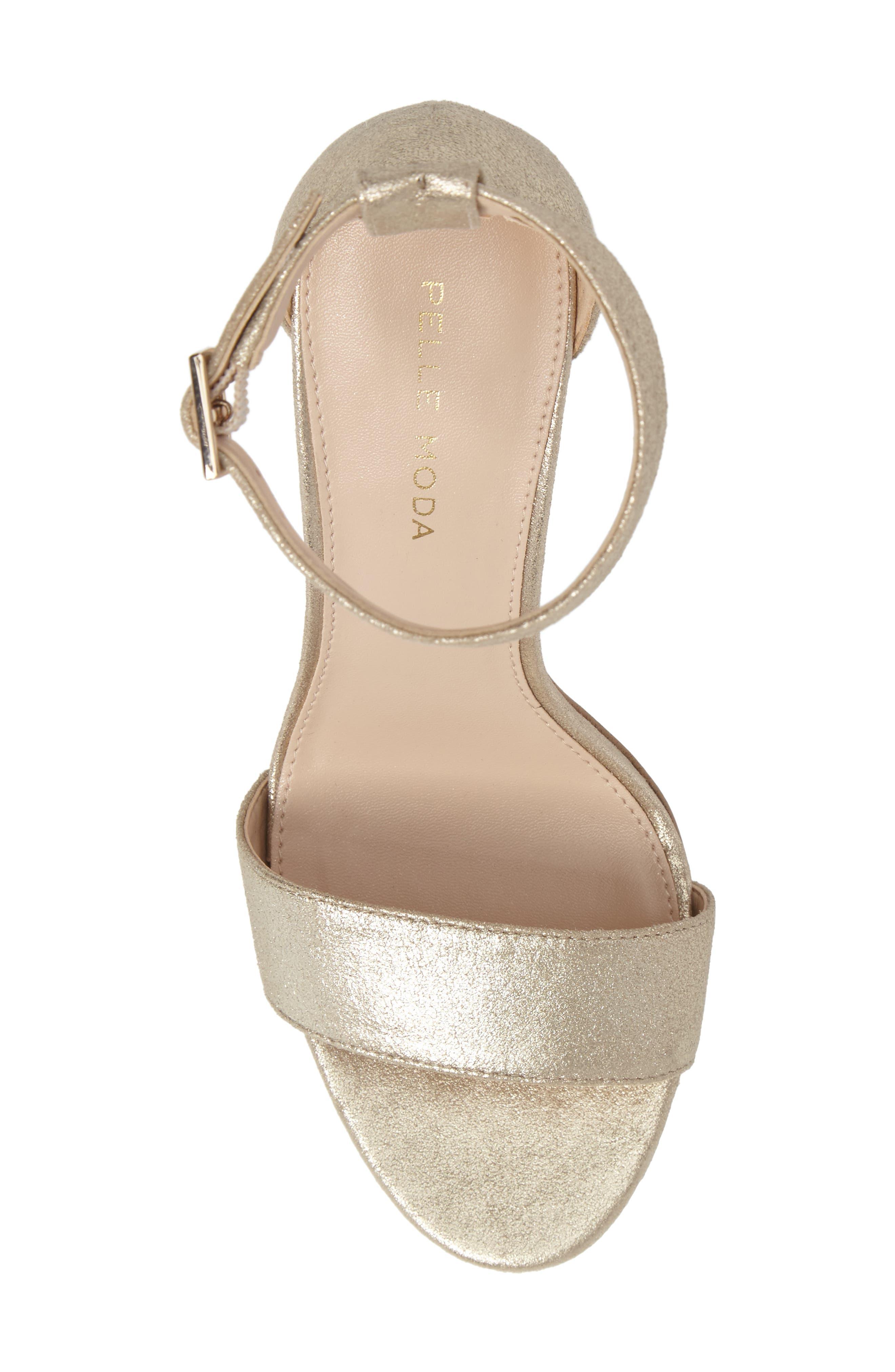 Alternate Image 4  - Pelle Moda 'Bonnie' Ankle Strap Sandal (Women)