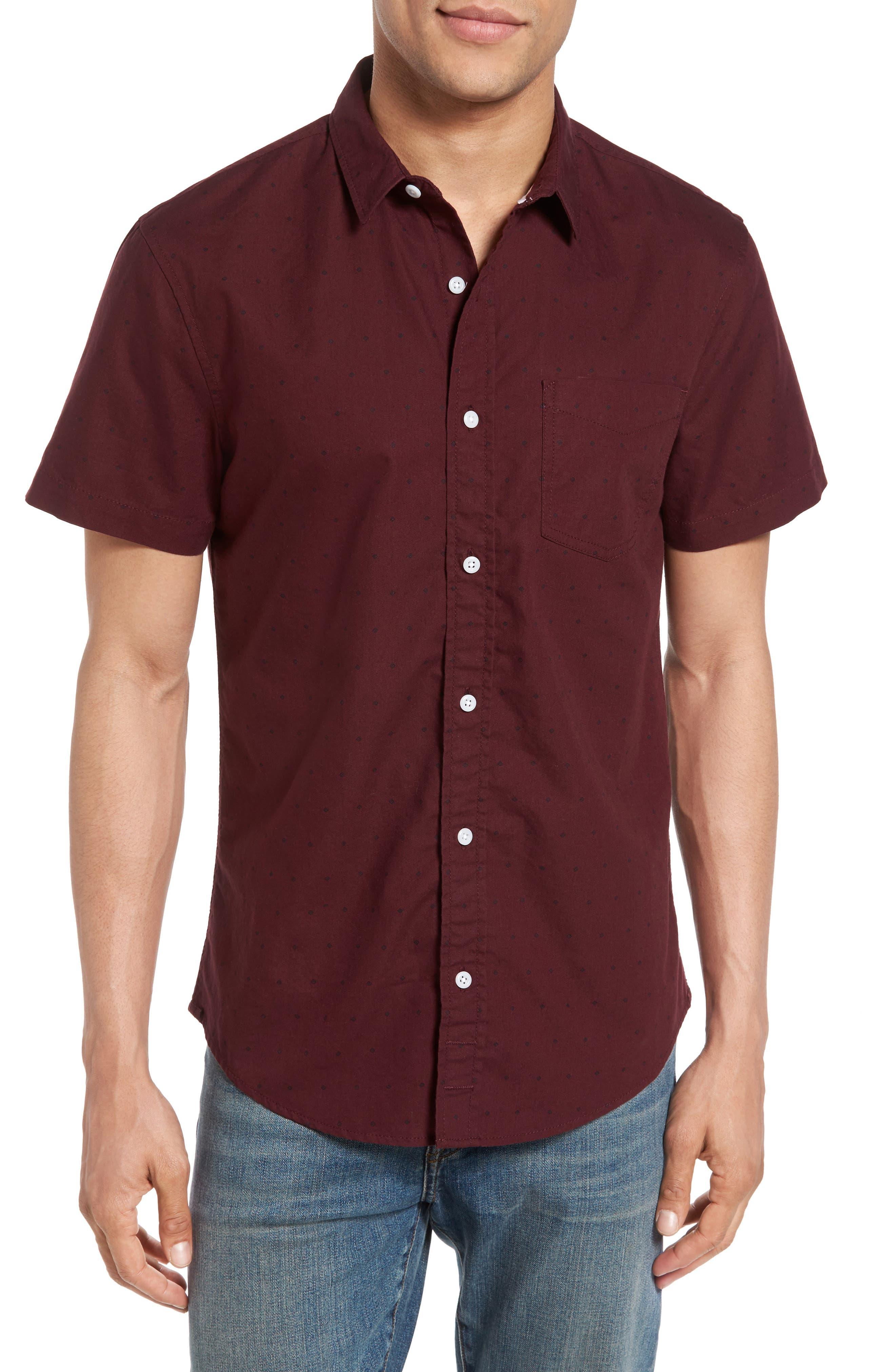 1901 Print Cotton Oxford Shirt