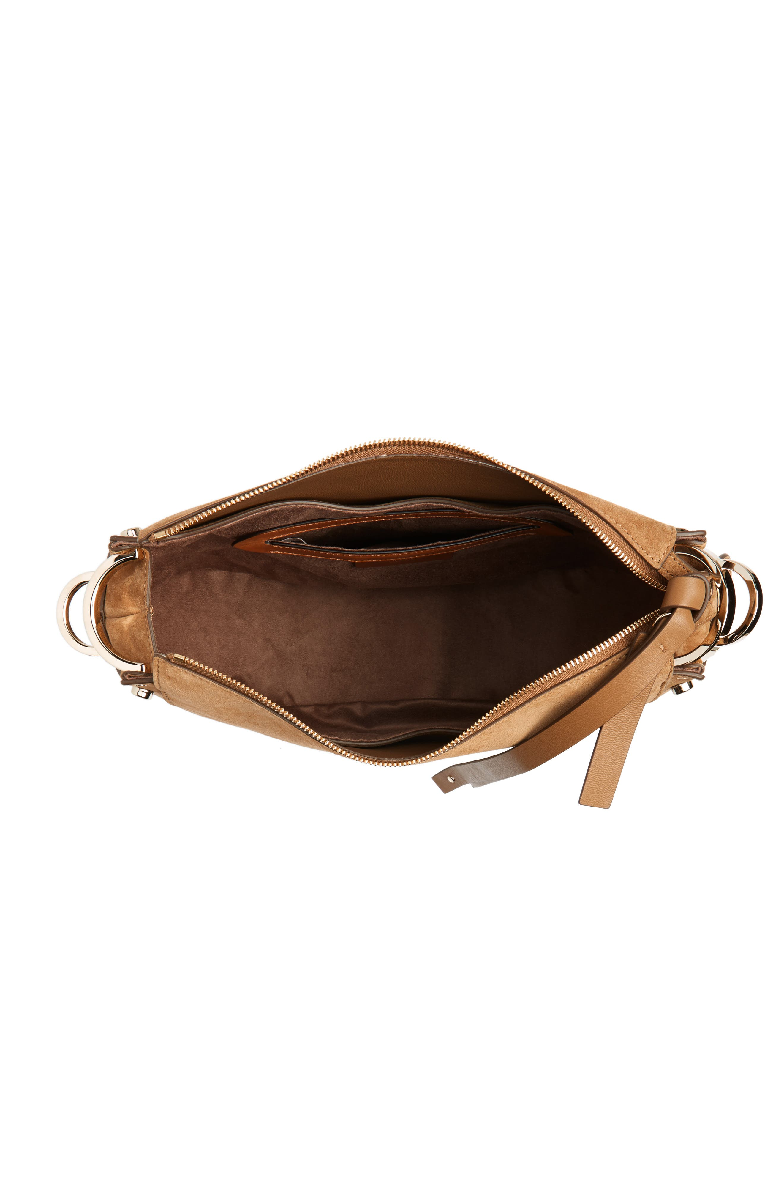 Alternate Image 4  - Jimmy Choo Artie Suede Hobo Bag