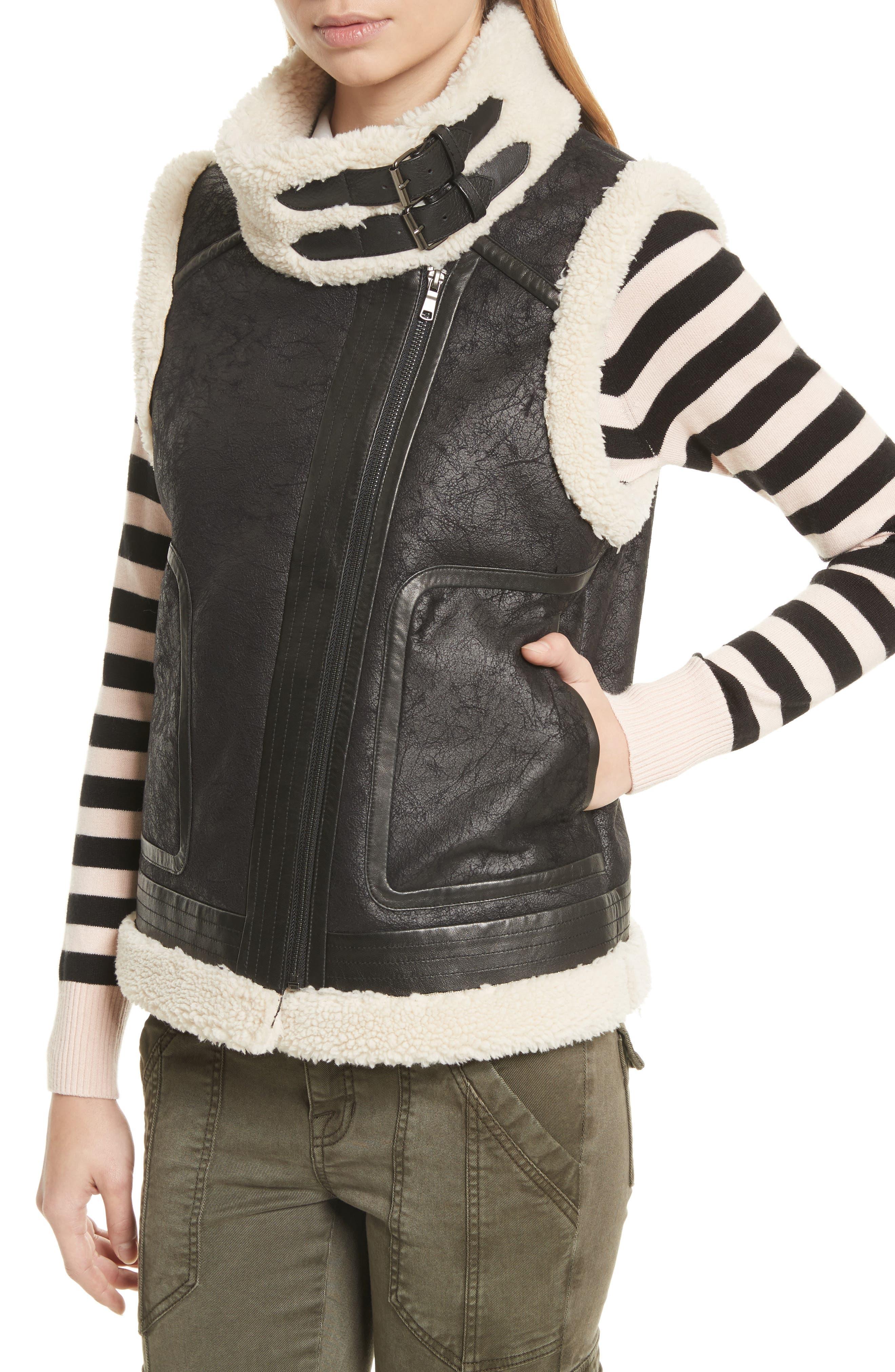 Alternate Image 4  - Joie Danay Faux Shearling Vest