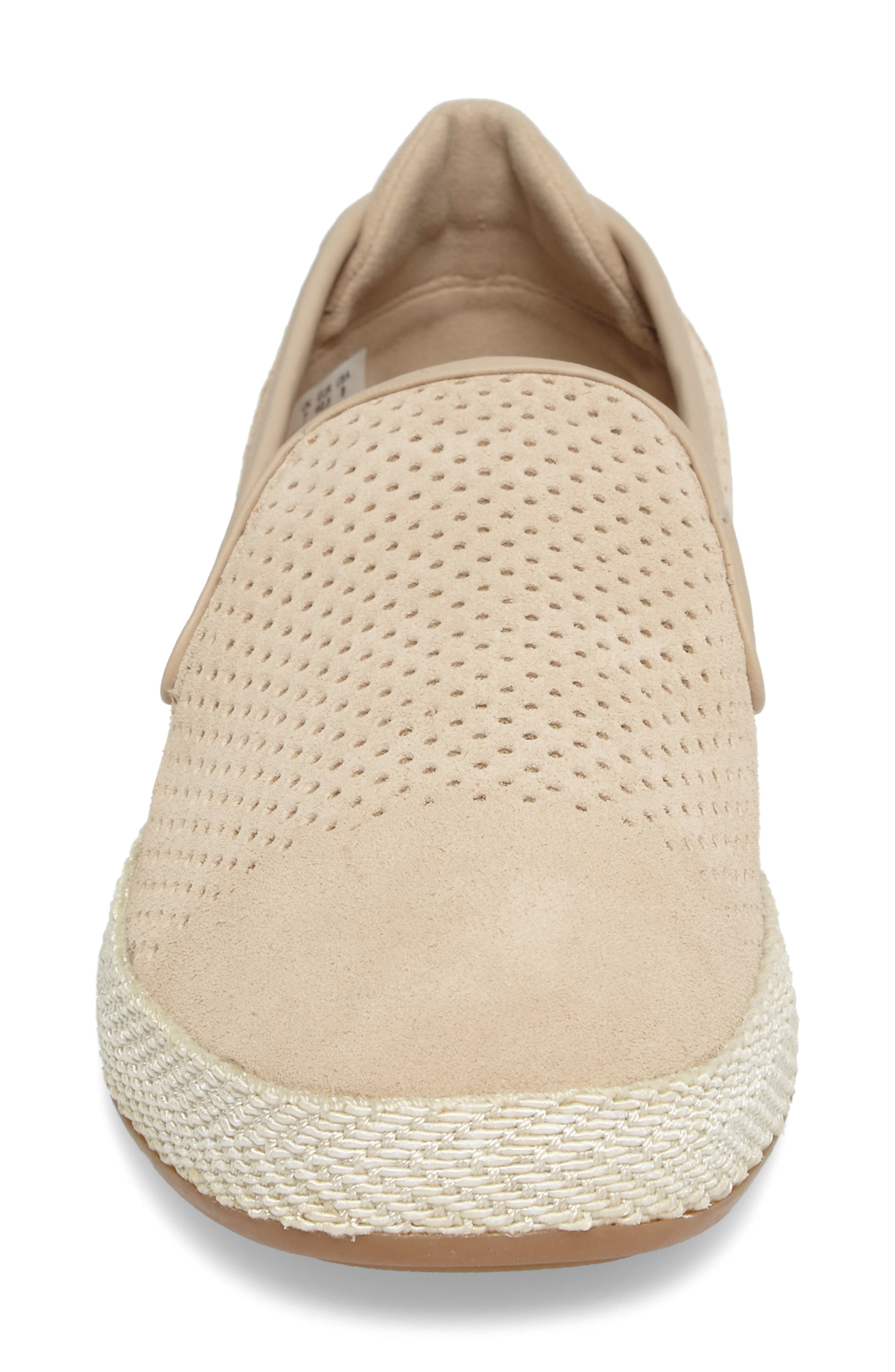 Tombre Slip-On,                             Alternate thumbnail 4, color,                             Natural Suede