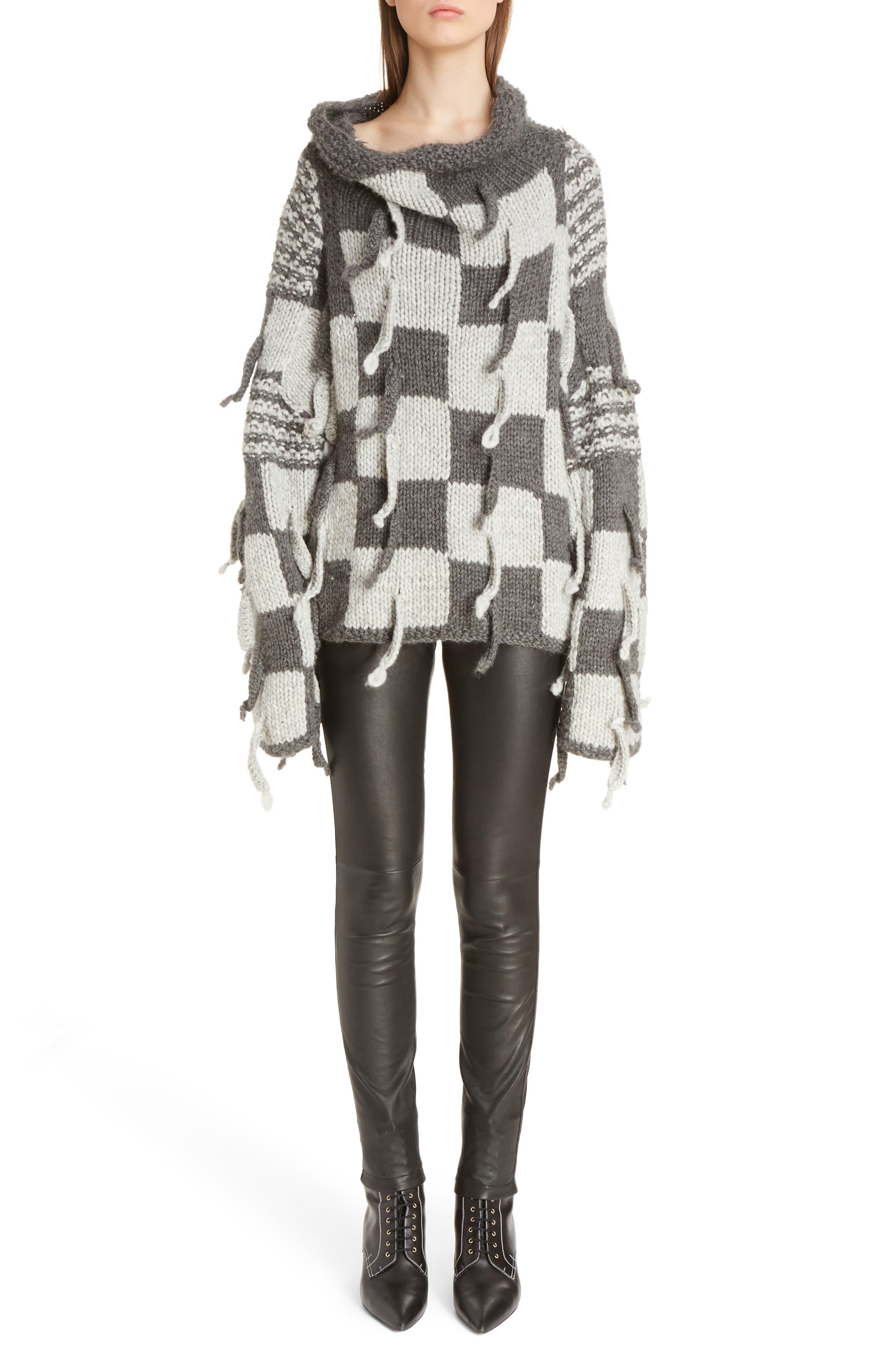 Alternate Image 7  - Loewe Chunky Knit Wool & Alpaca Sweater