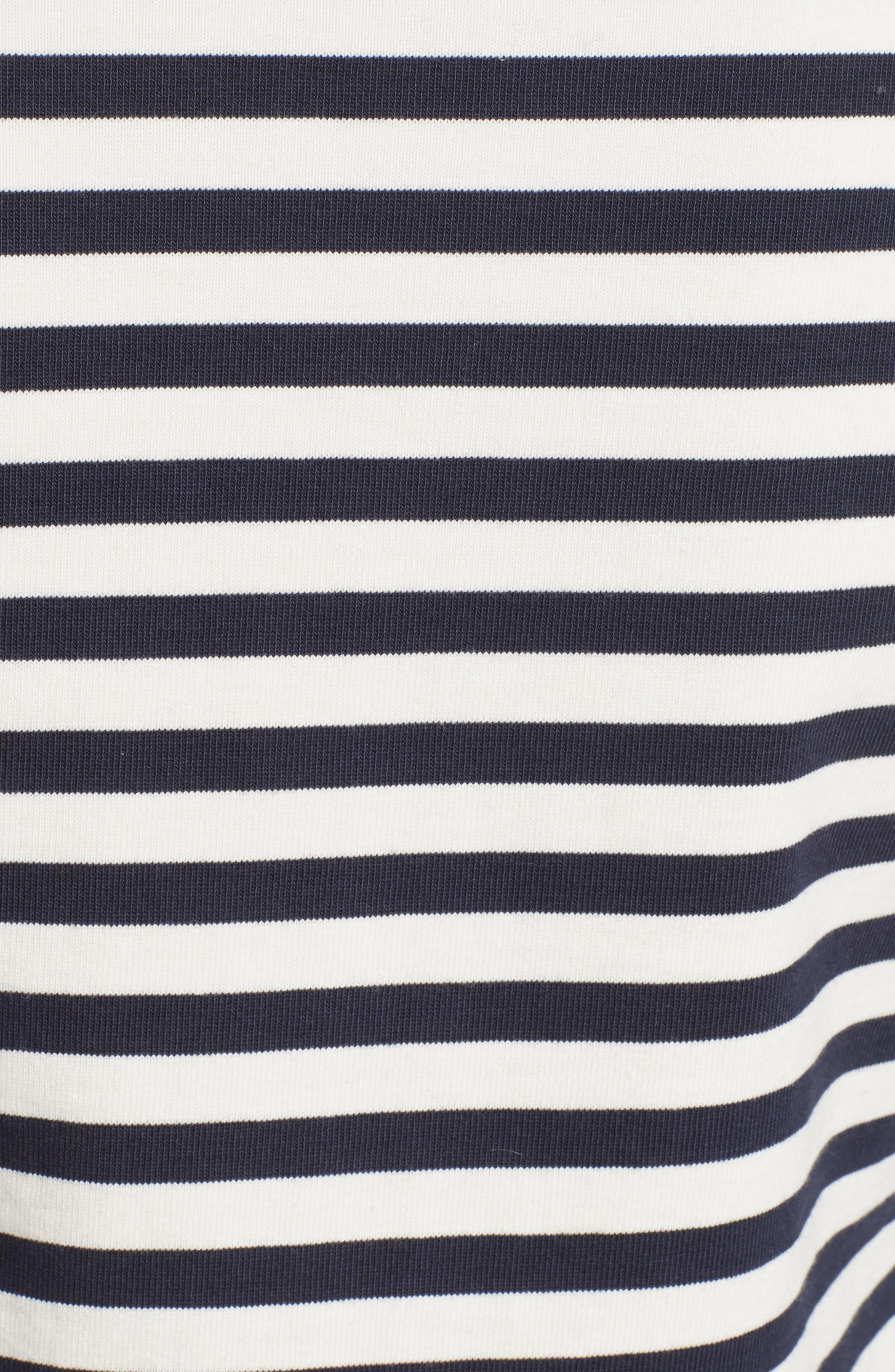 Alternate Image 3  - Belstaff Christina Stripe Cotton Sweater