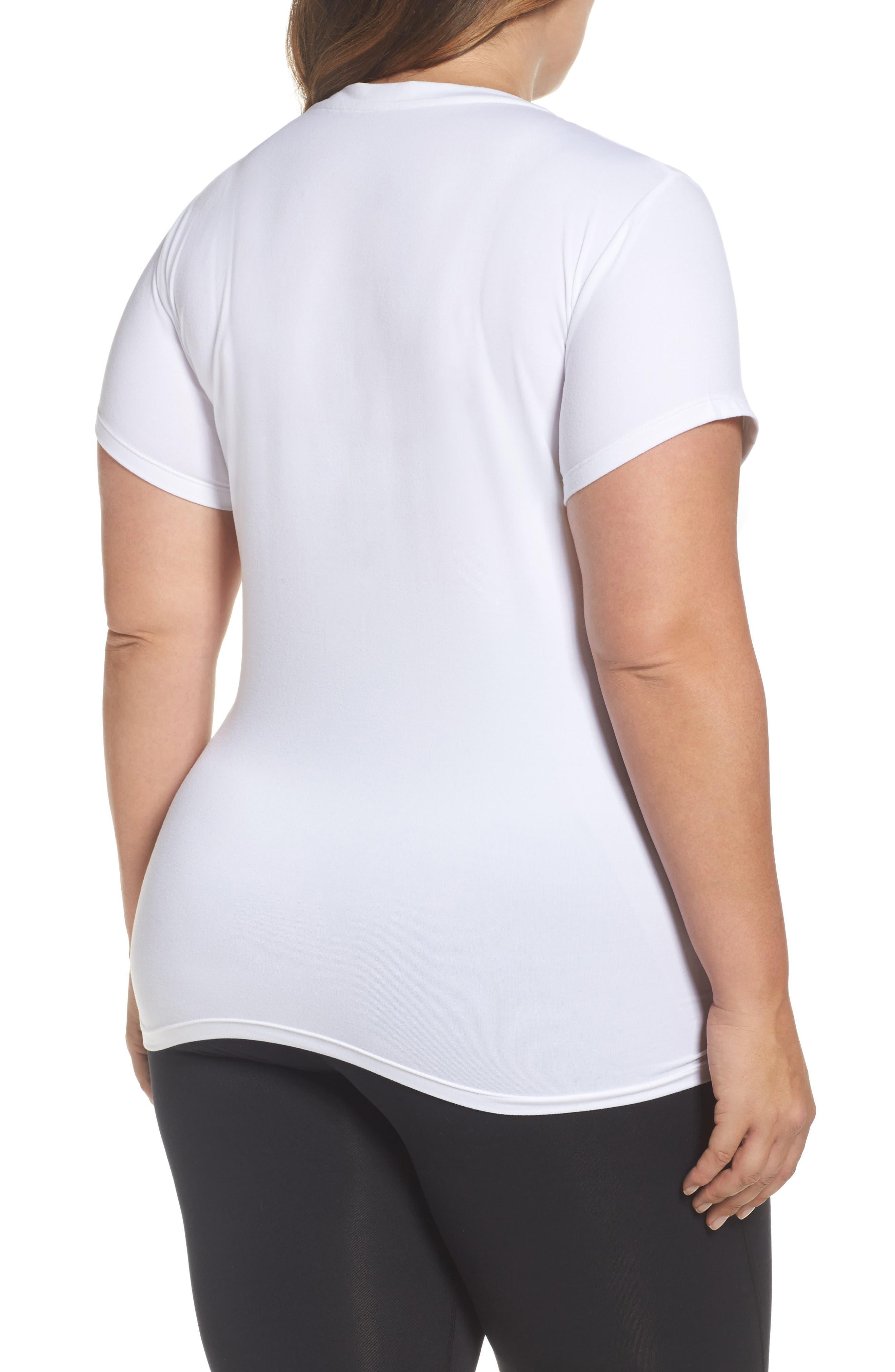 Alternate Image 2  - Marika Curves 'Elizabeth' Slimming Tee (Plus Size)