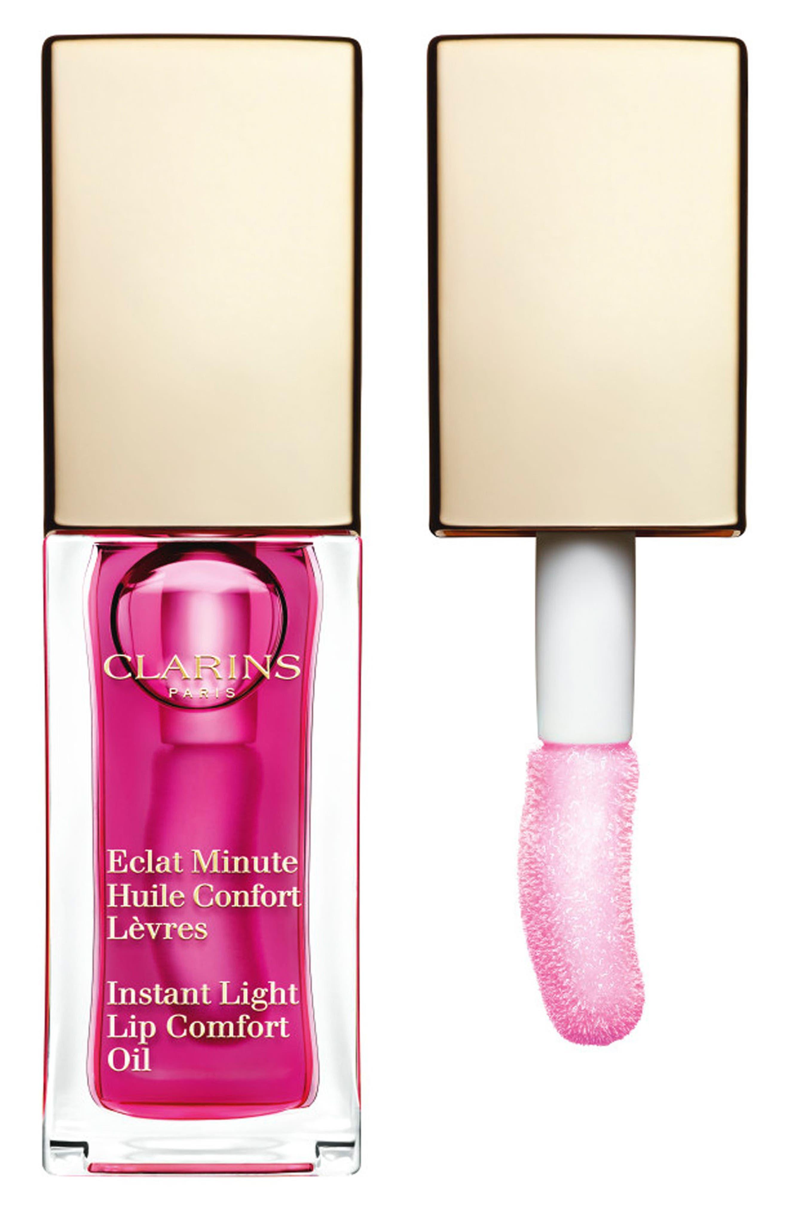 Alternate Image 1 Selected - Clarins 'Instant Light' Lip Comfort Oil