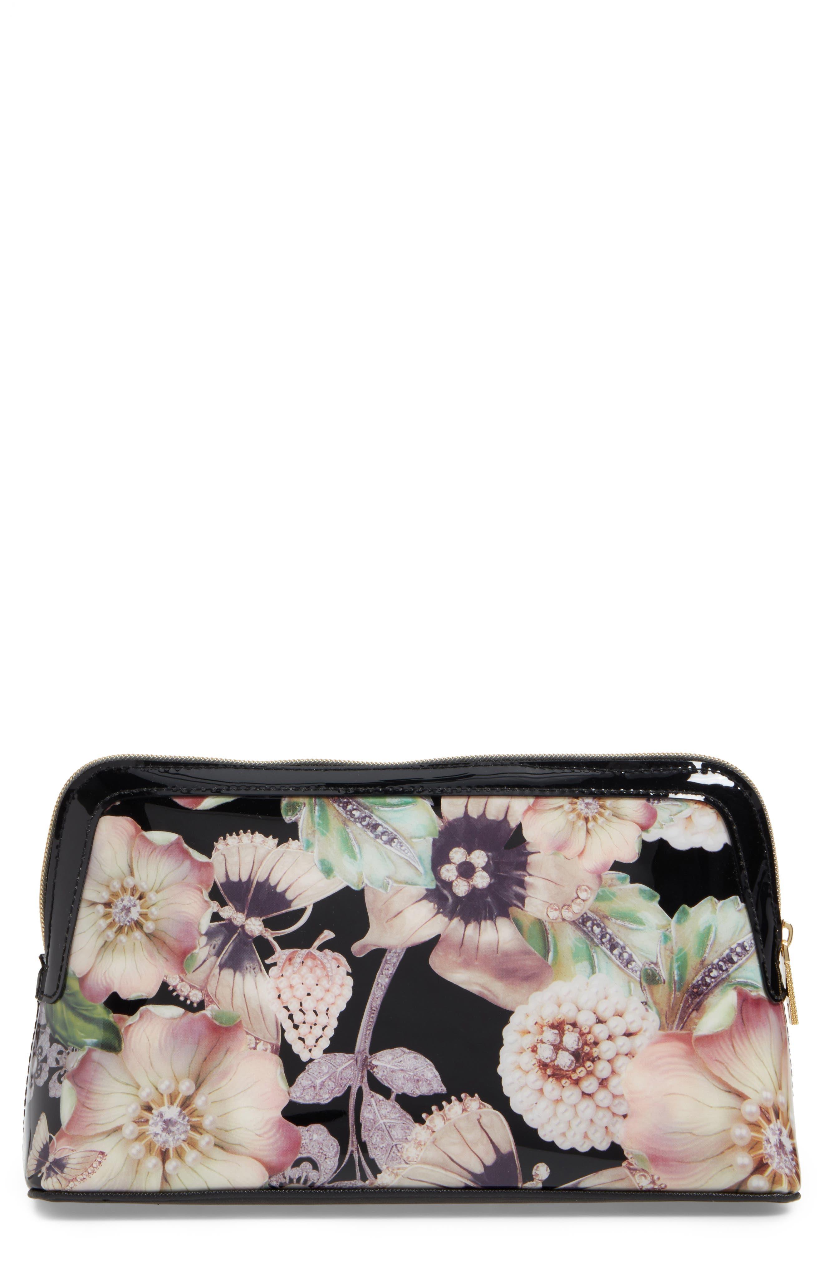 Main Image - Ted Baker Gem Garden Wash Bag