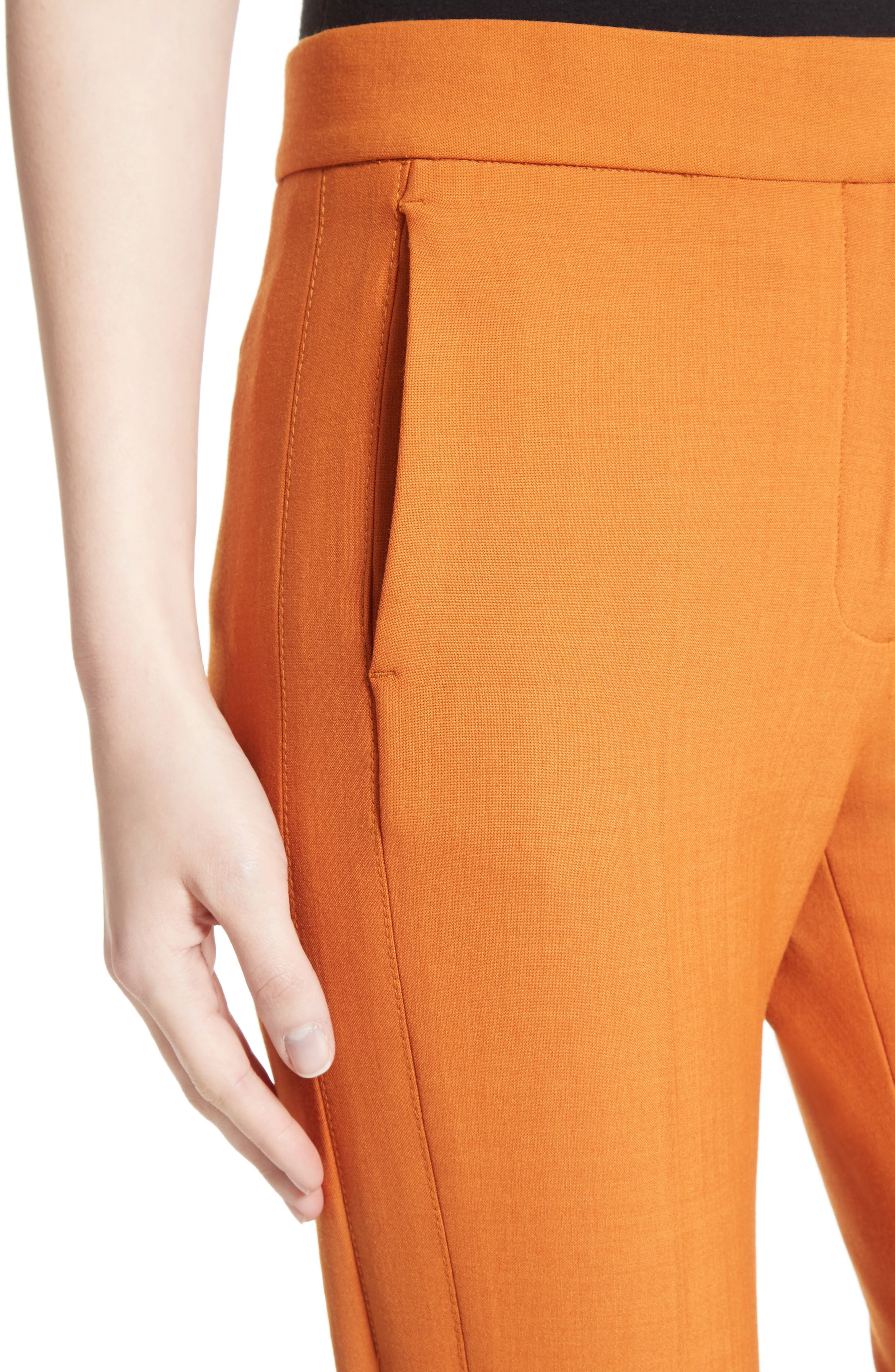 Flare Pants,                             Alternate thumbnail 5, color,                             Maple