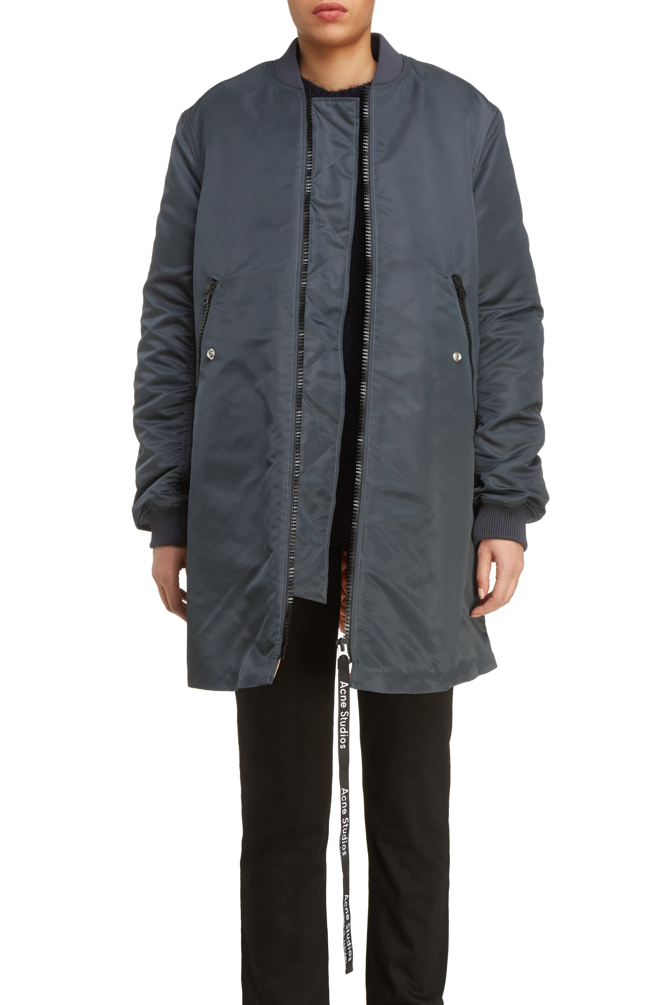 ACNE Studios Coos Long Bomber Jacket