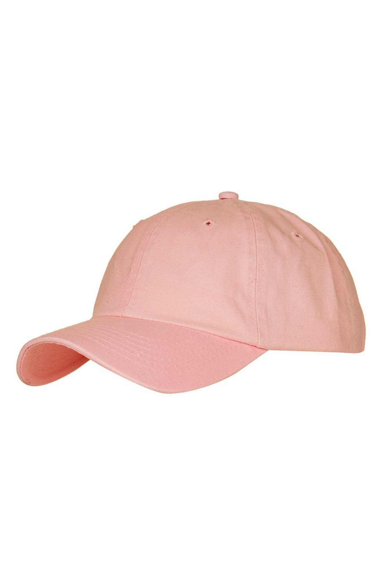 Main Image - Topshop Washed Baseball Cap