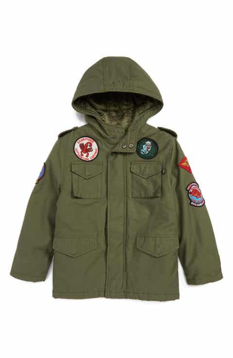 Boys' Coats, Jackets & Outerwear: Fleece & Parka | Nordstrom ...