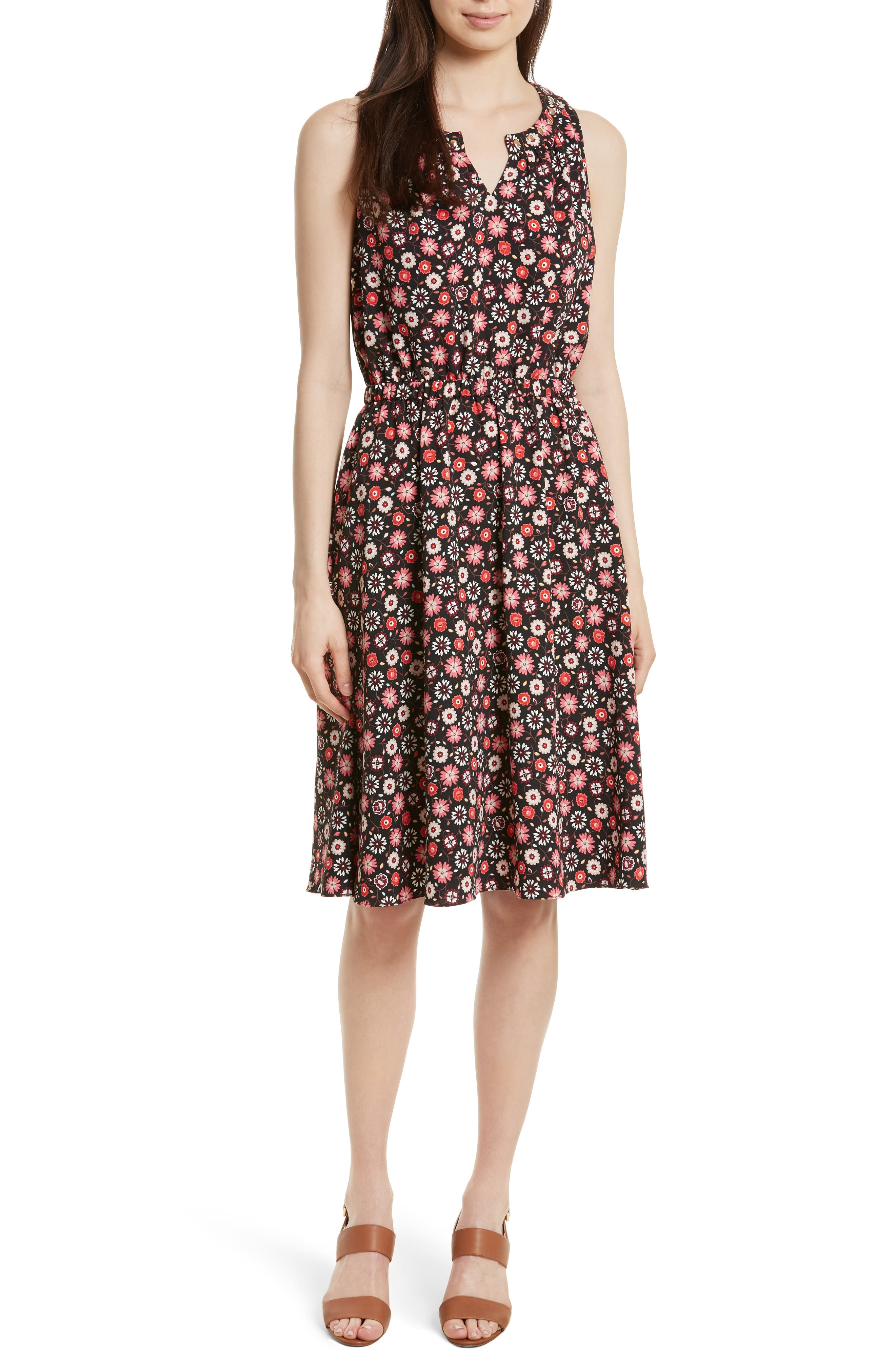 KATE SPADE NEW YORK casa flora a-line dress