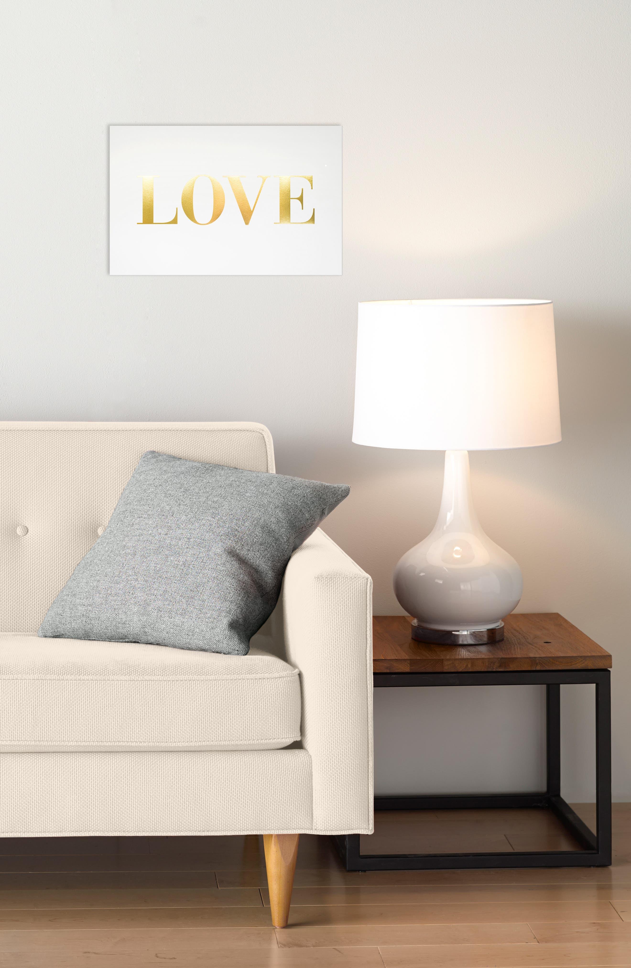 Alternate Image 2  - sugar paper Love Art Print