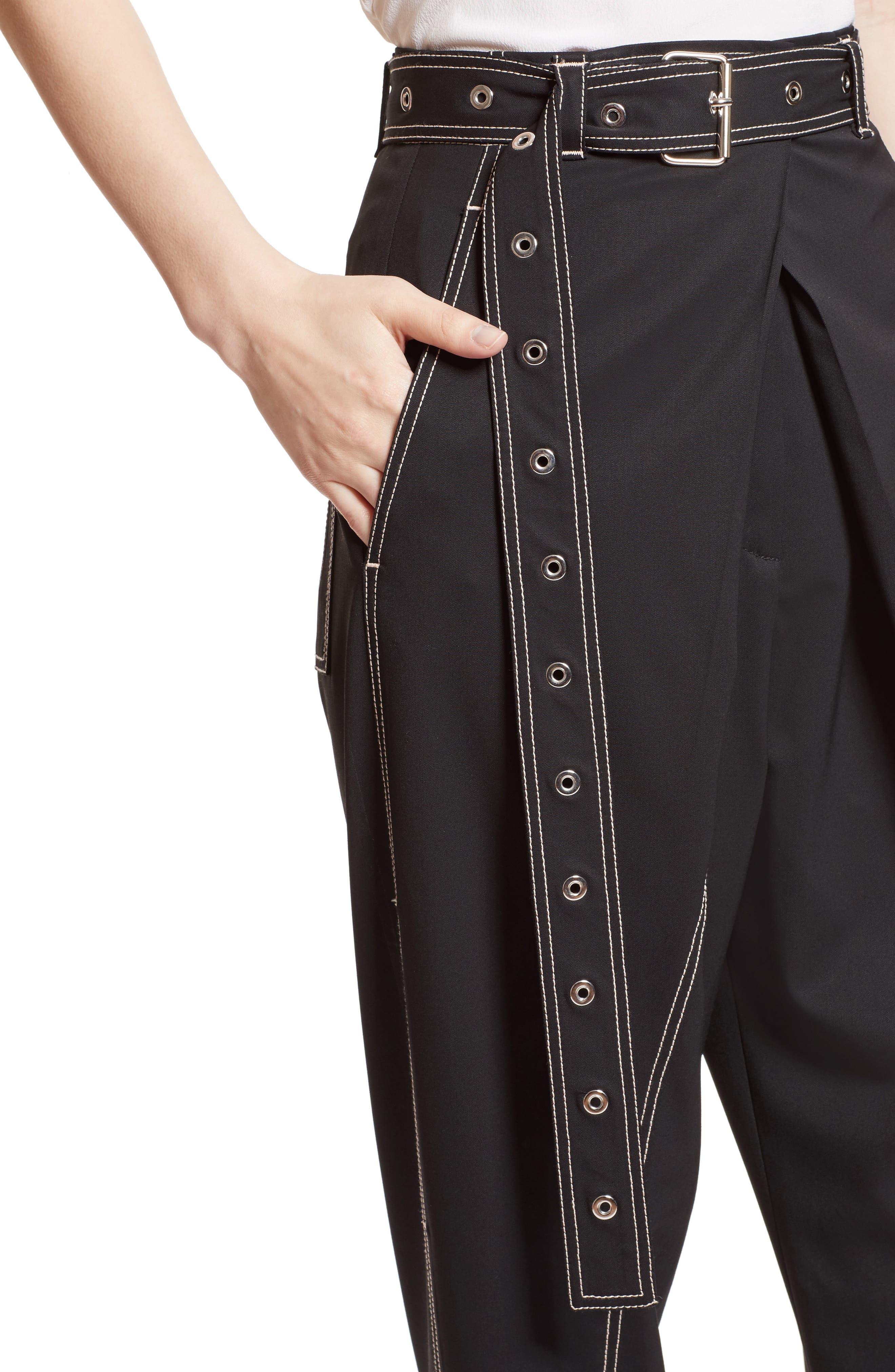 Alternate Image 5  - Proenza Schouler Cuff Straight Leg Pants