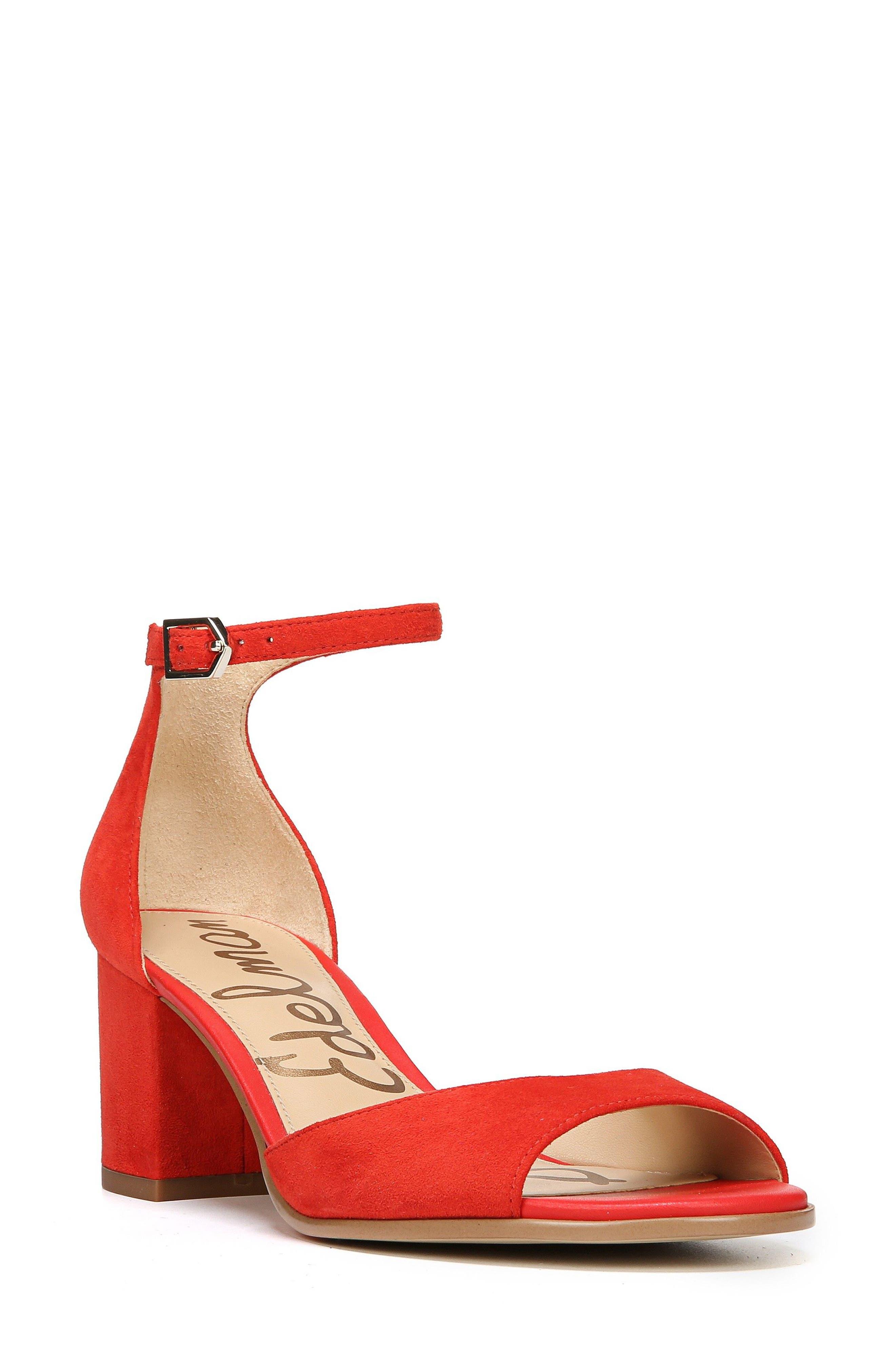 Alternate Image 1 Selected - Sam Edelman Susie d'Orsay Ankle Strap Sandal (Women)
