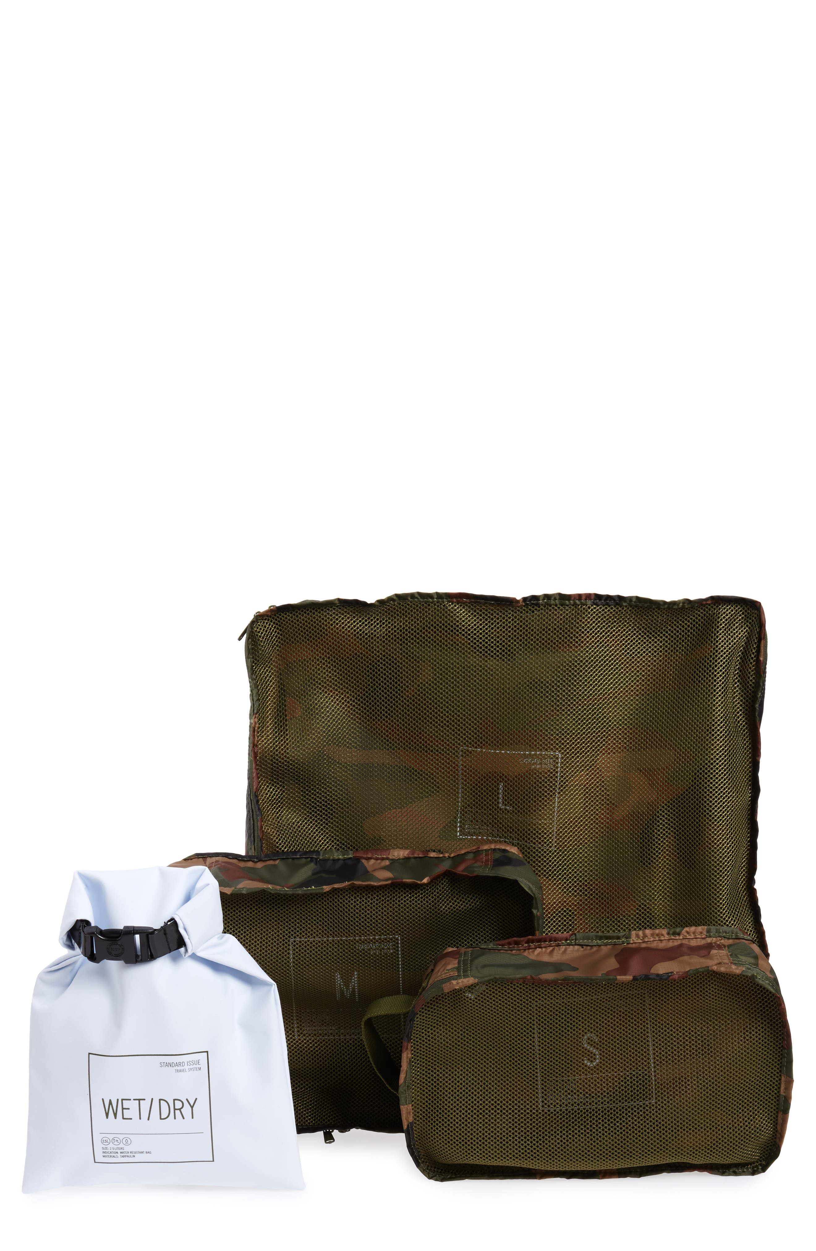 Standard Issue Travel System,                             Main thumbnail 1, color,                             Woodland Camo