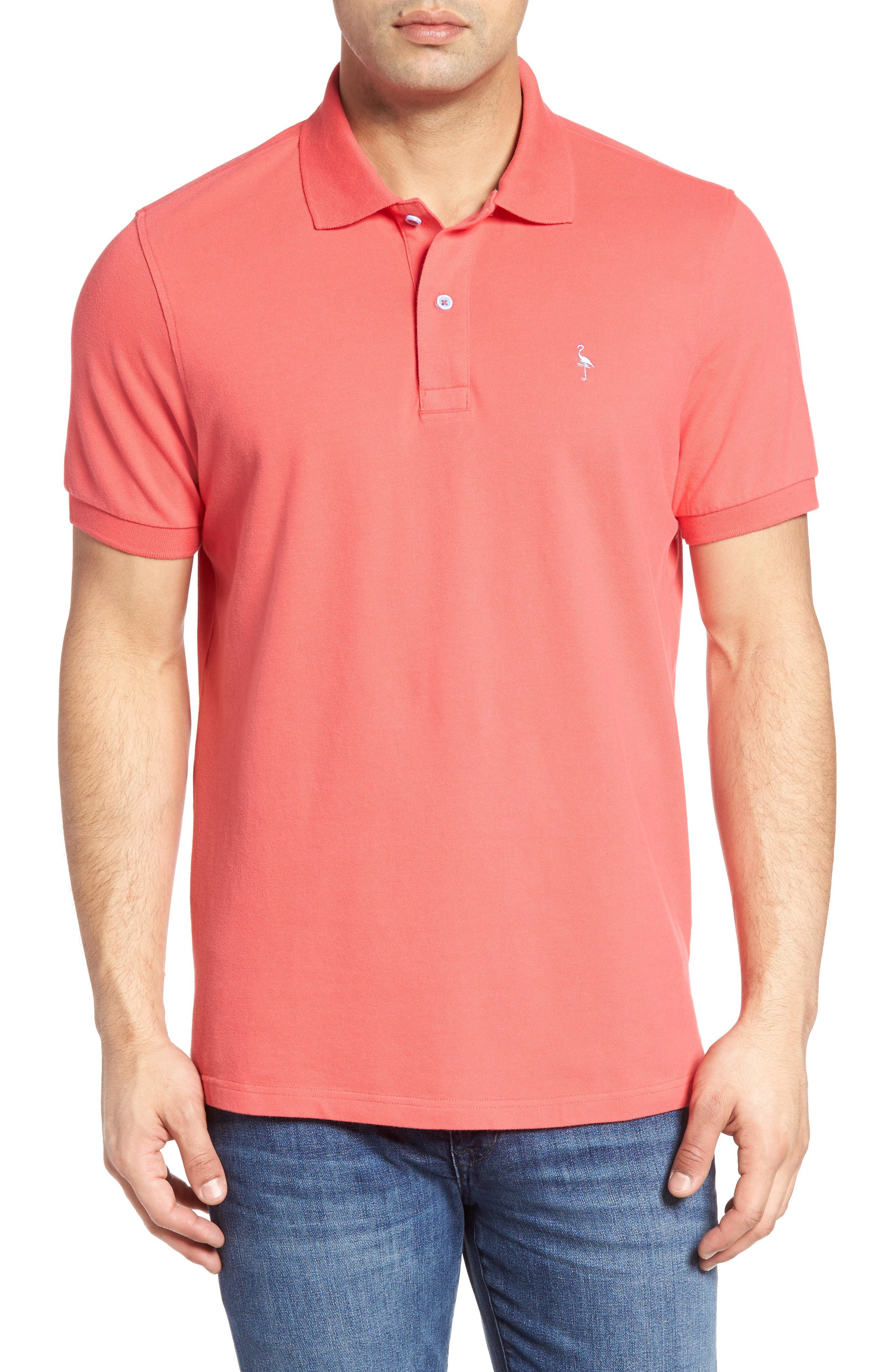 TAILORBYRD Stretch Piqué Cotton Polo