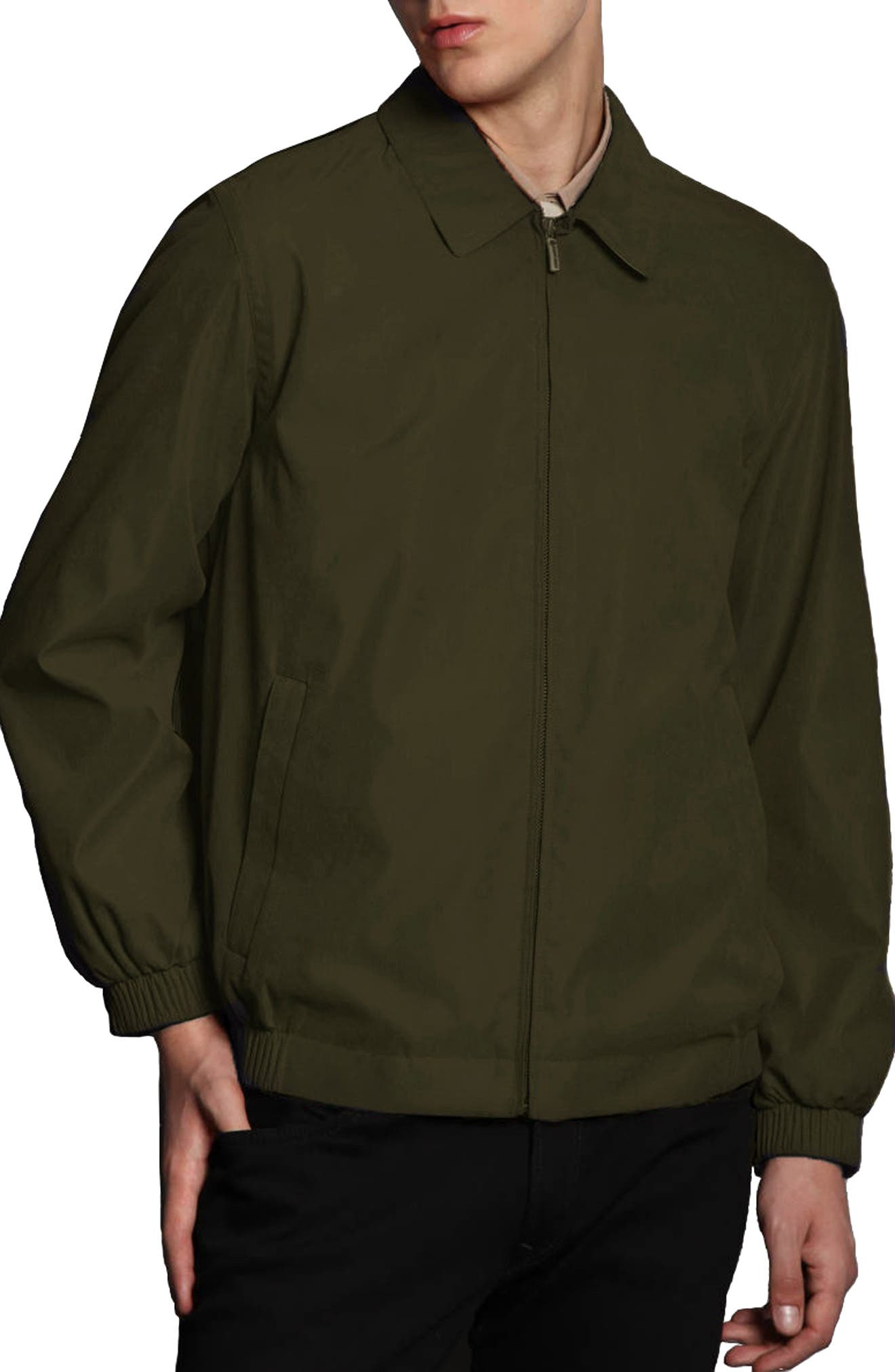 'Microseta' Lightweight Golf Jacket,                             Main thumbnail 1, color,                             Oregano