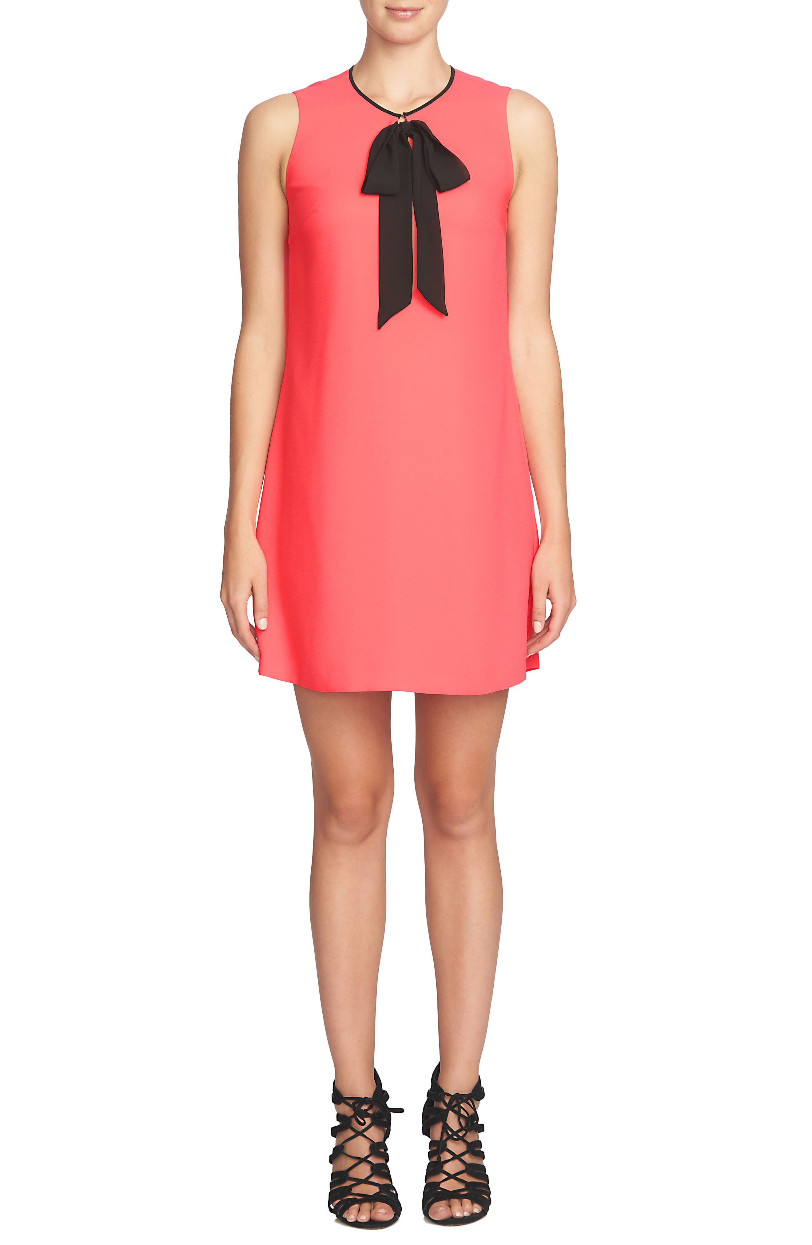 Alternate Image 1 Selected - Cece Rosie Tie Neck Dress
