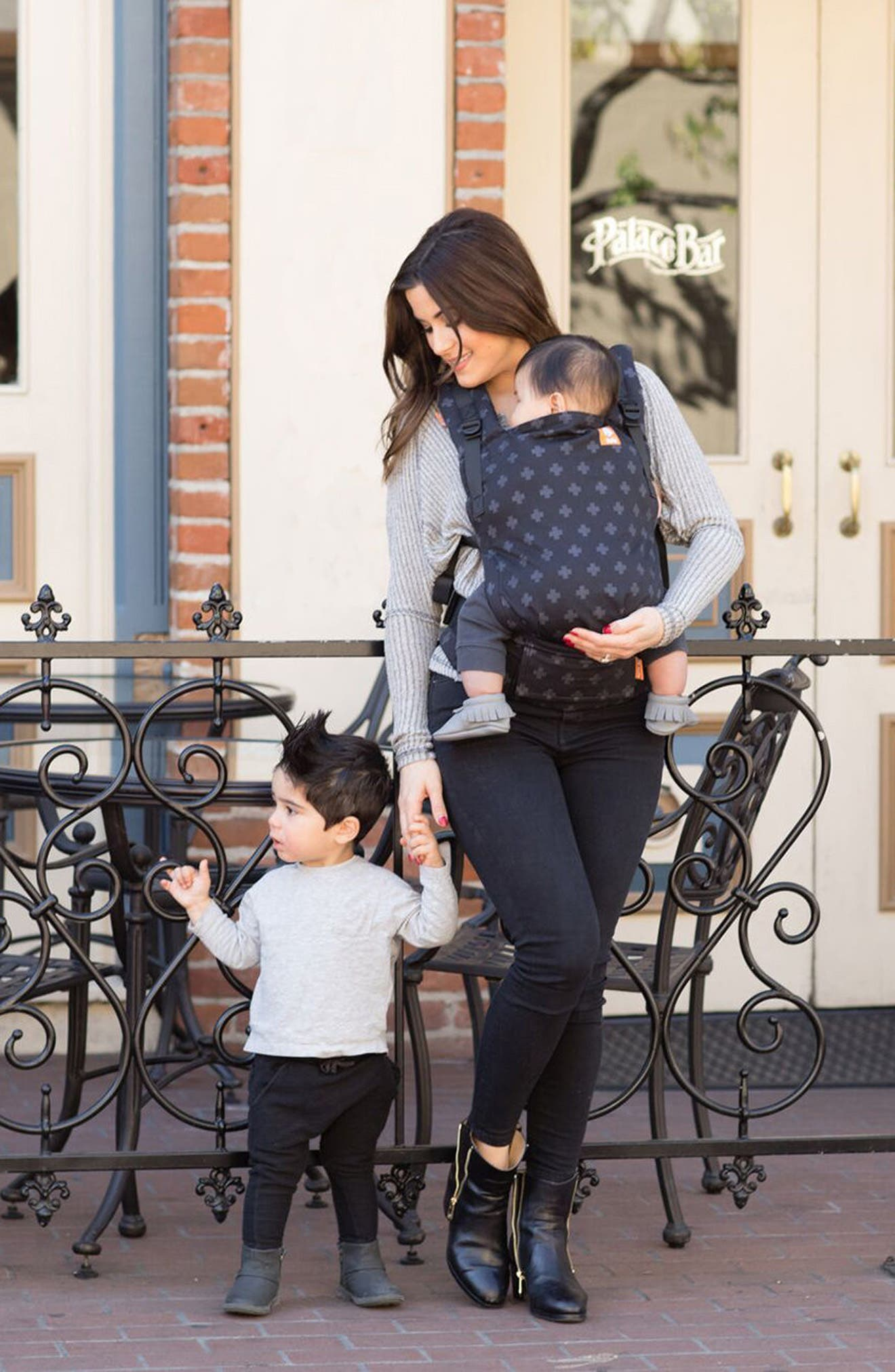 Alternate Image 2  - Baby Tula Free-to-Grow Baby Carrier (Nordstrom Exclusive)