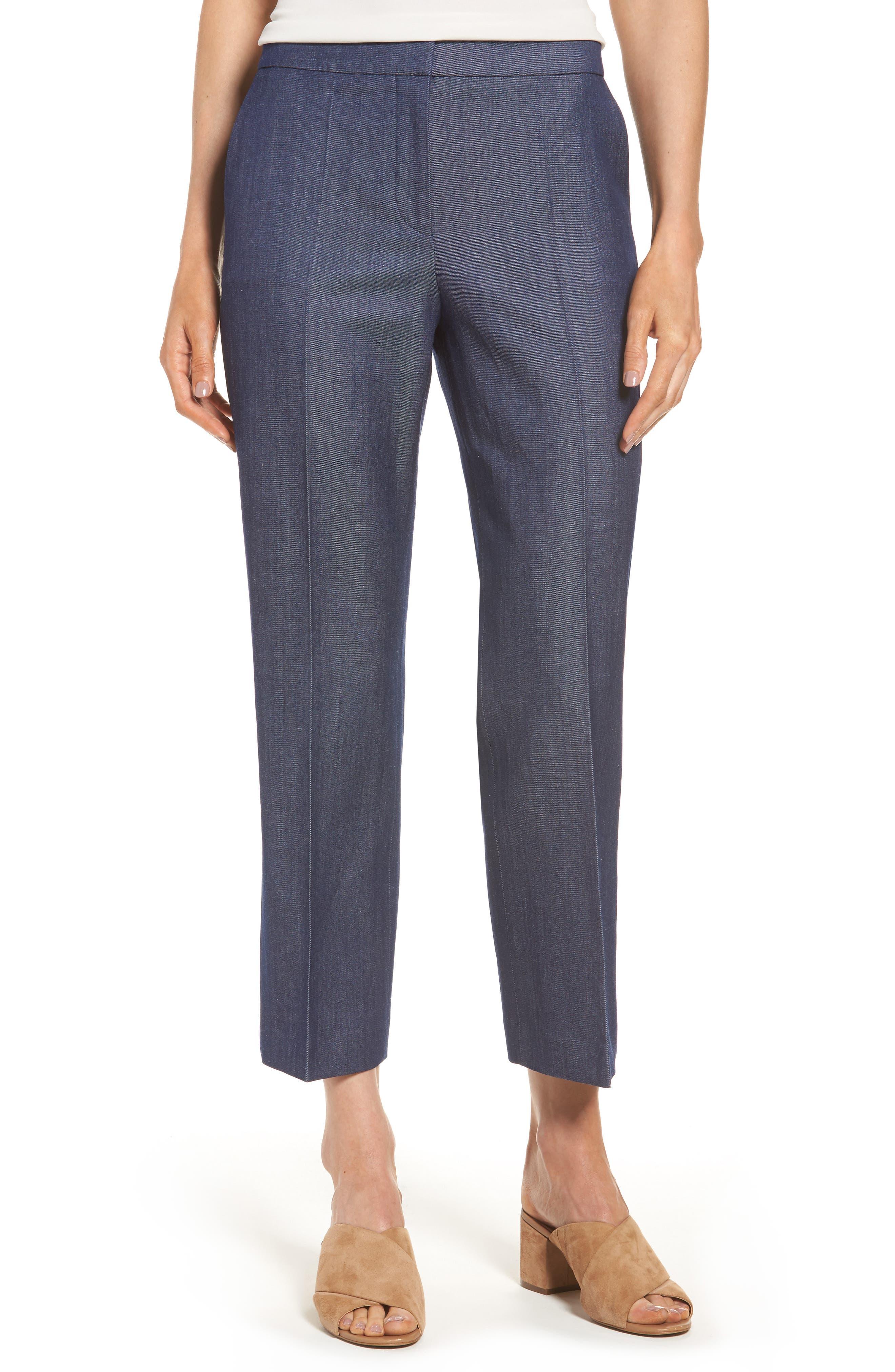 BOSS Allery Crop Trousers