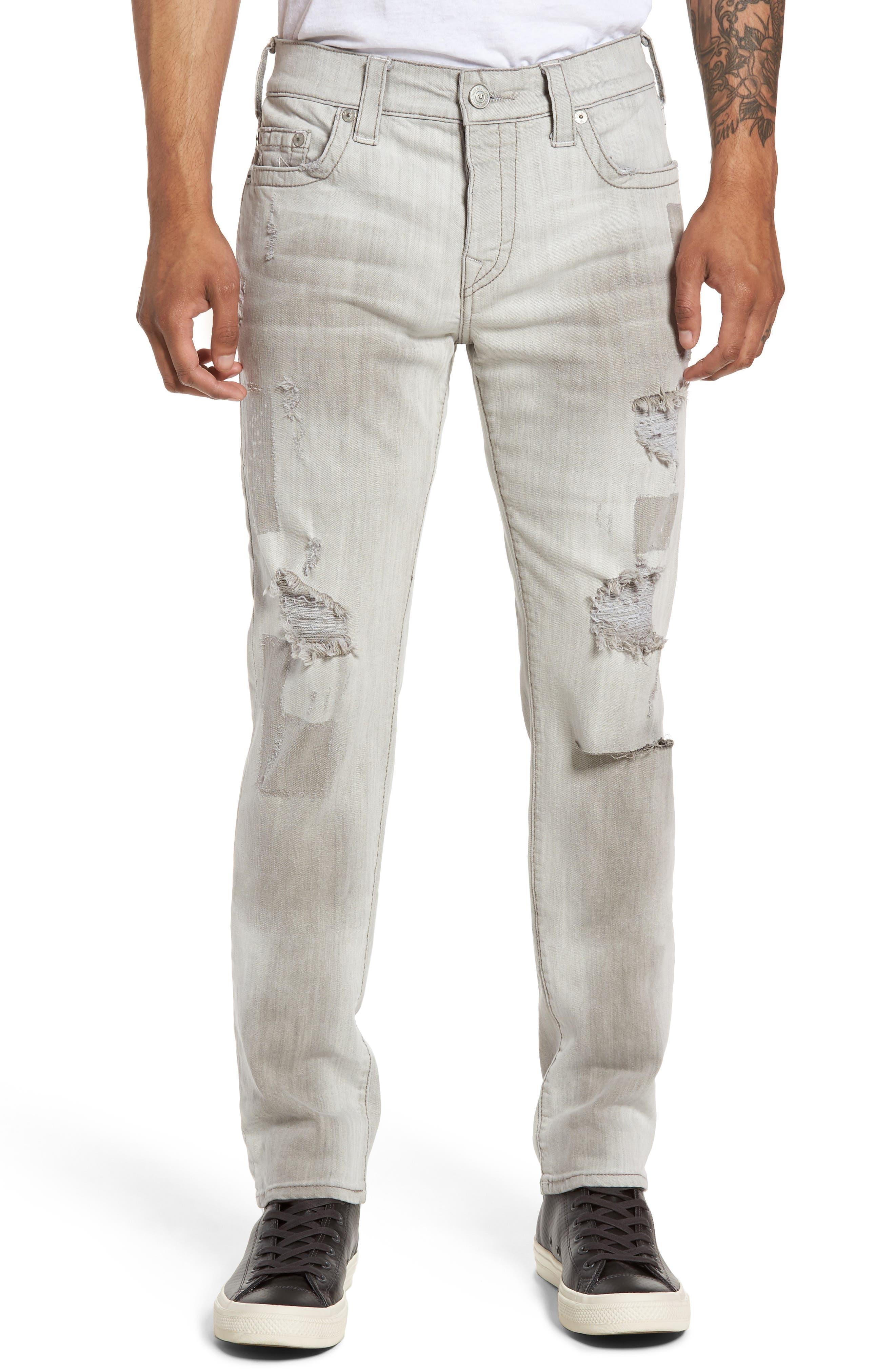 True Religion Brand Jeans Rocco Skinny Fit Jeans (Boardwalk Shadow)