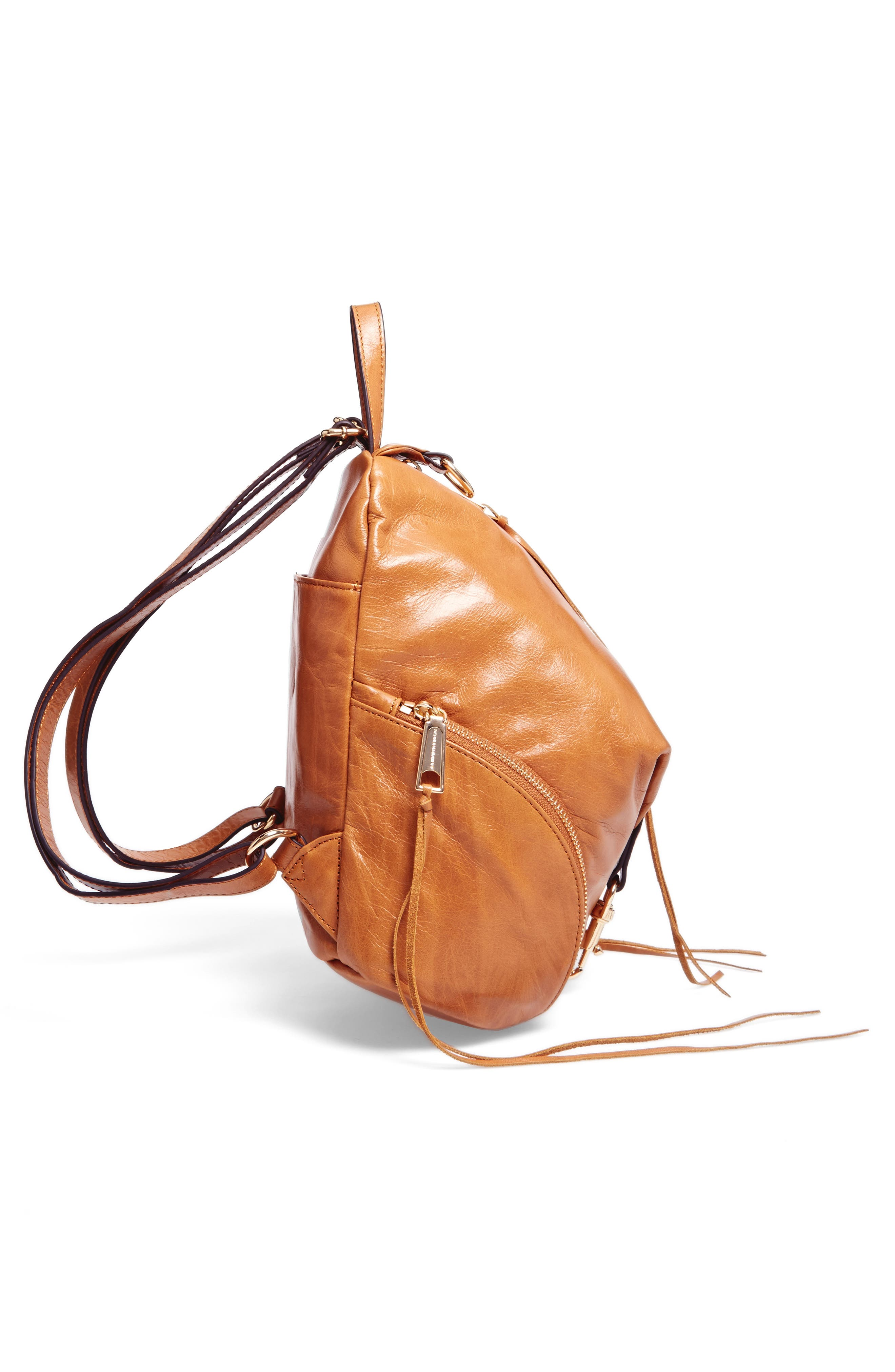 Alternate Image 4  - Rebecca Minkoff Medium Julian Leather Backpack