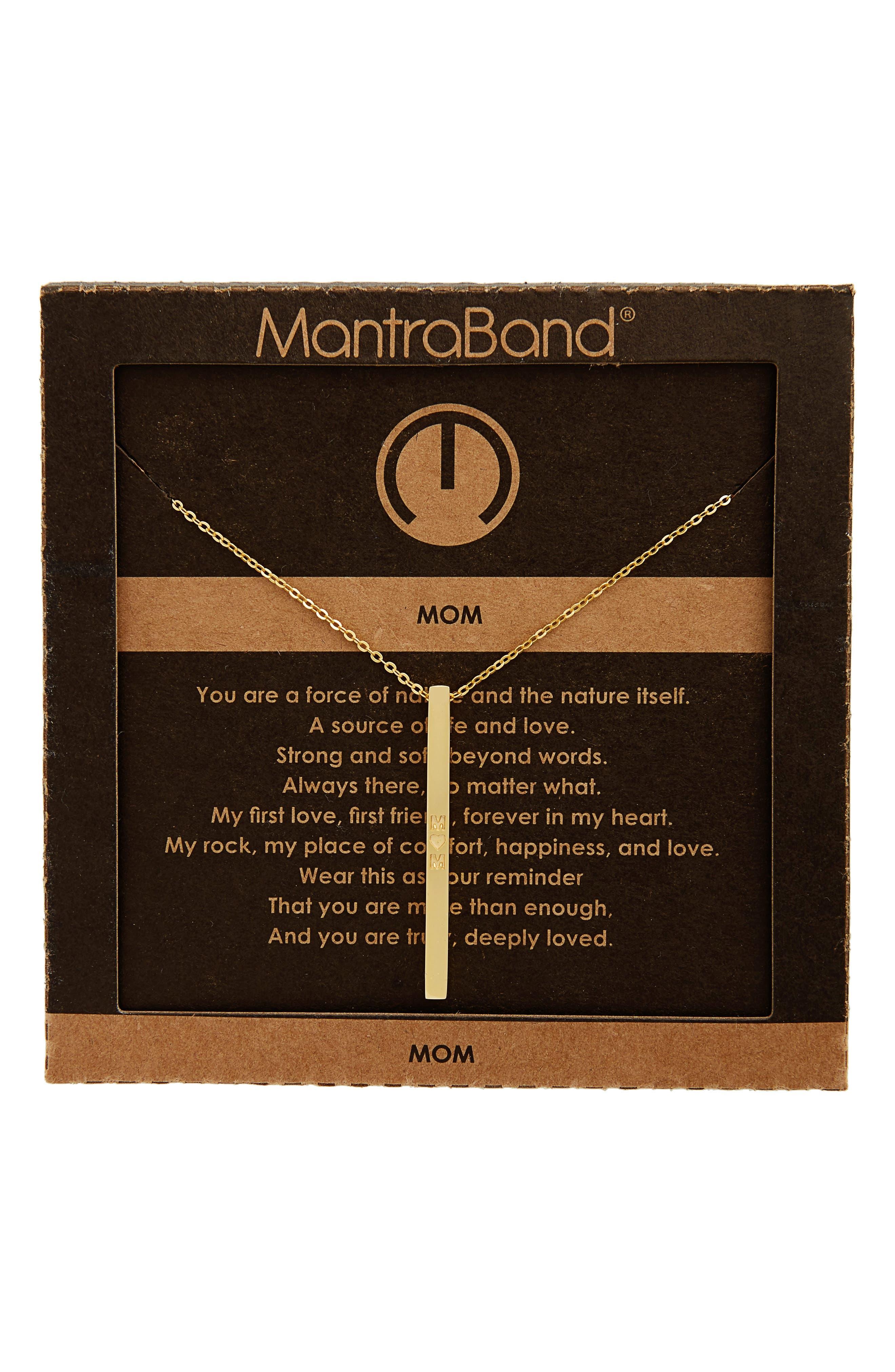 Alternate Image 3  - MantraBand® Mom Necklace