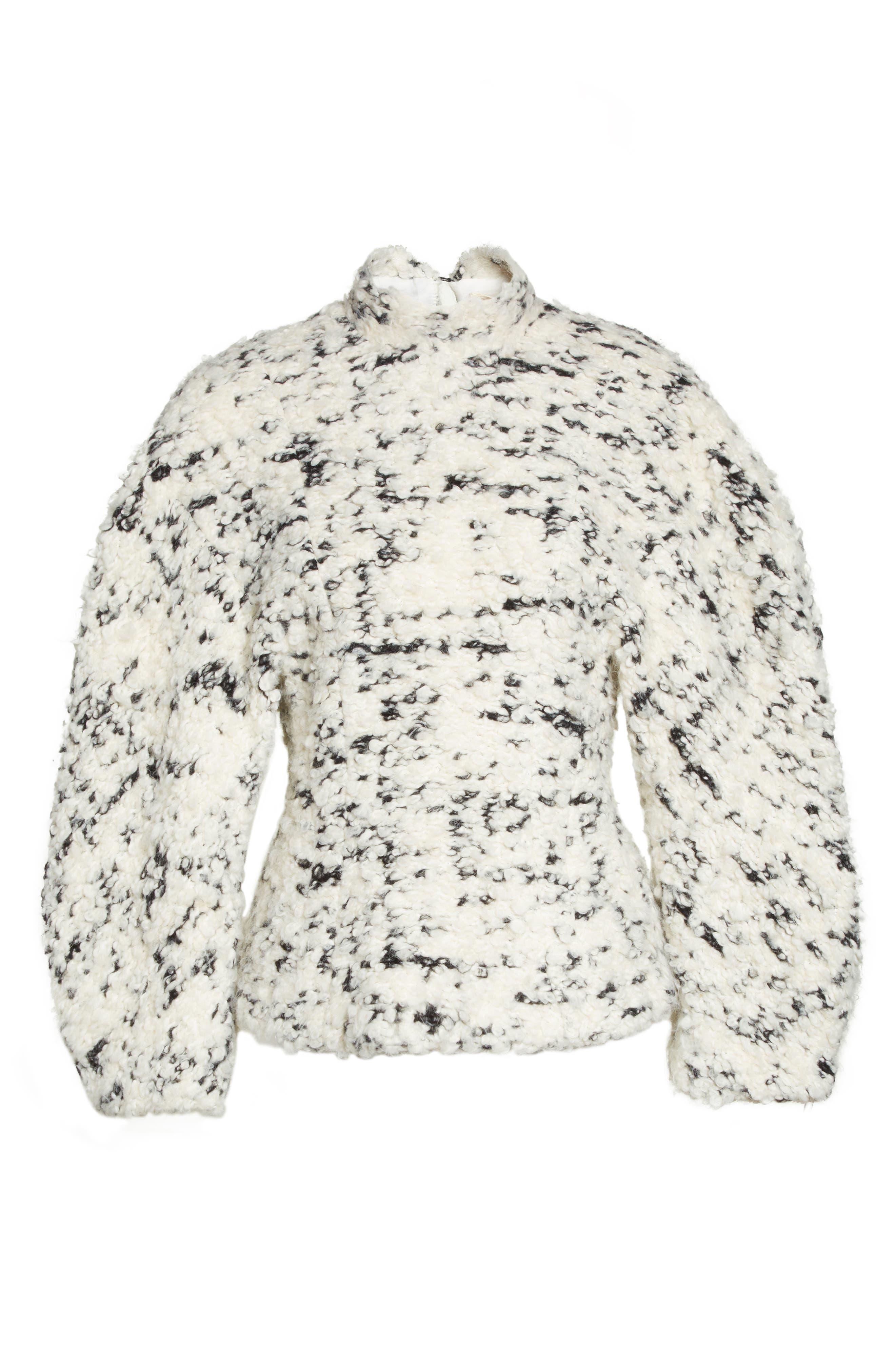 Alternate Image 6  - A.W.A.K.E. Textured Mock Neck Sweater