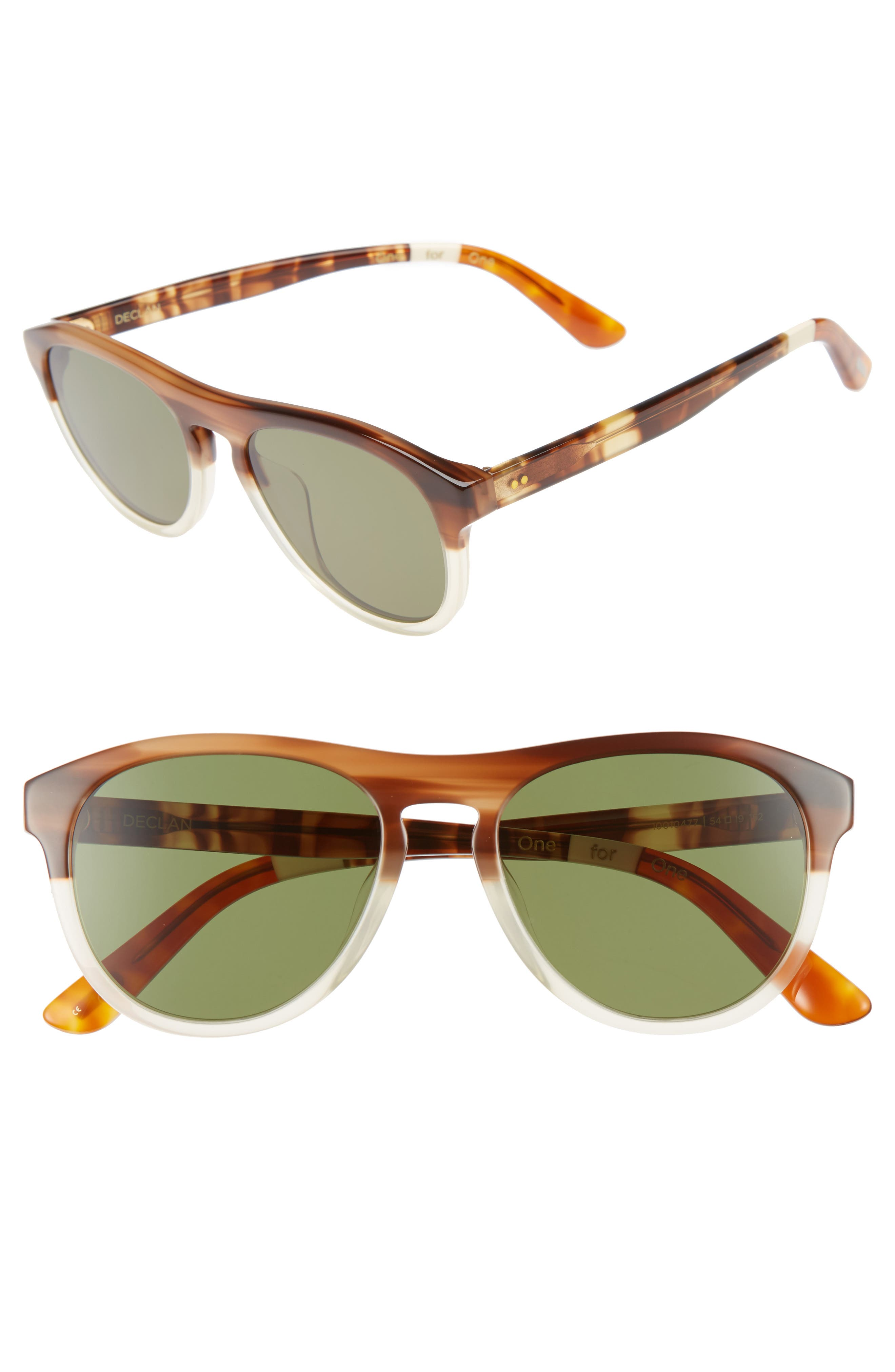 TOMS Declan 54mm Sunglasses