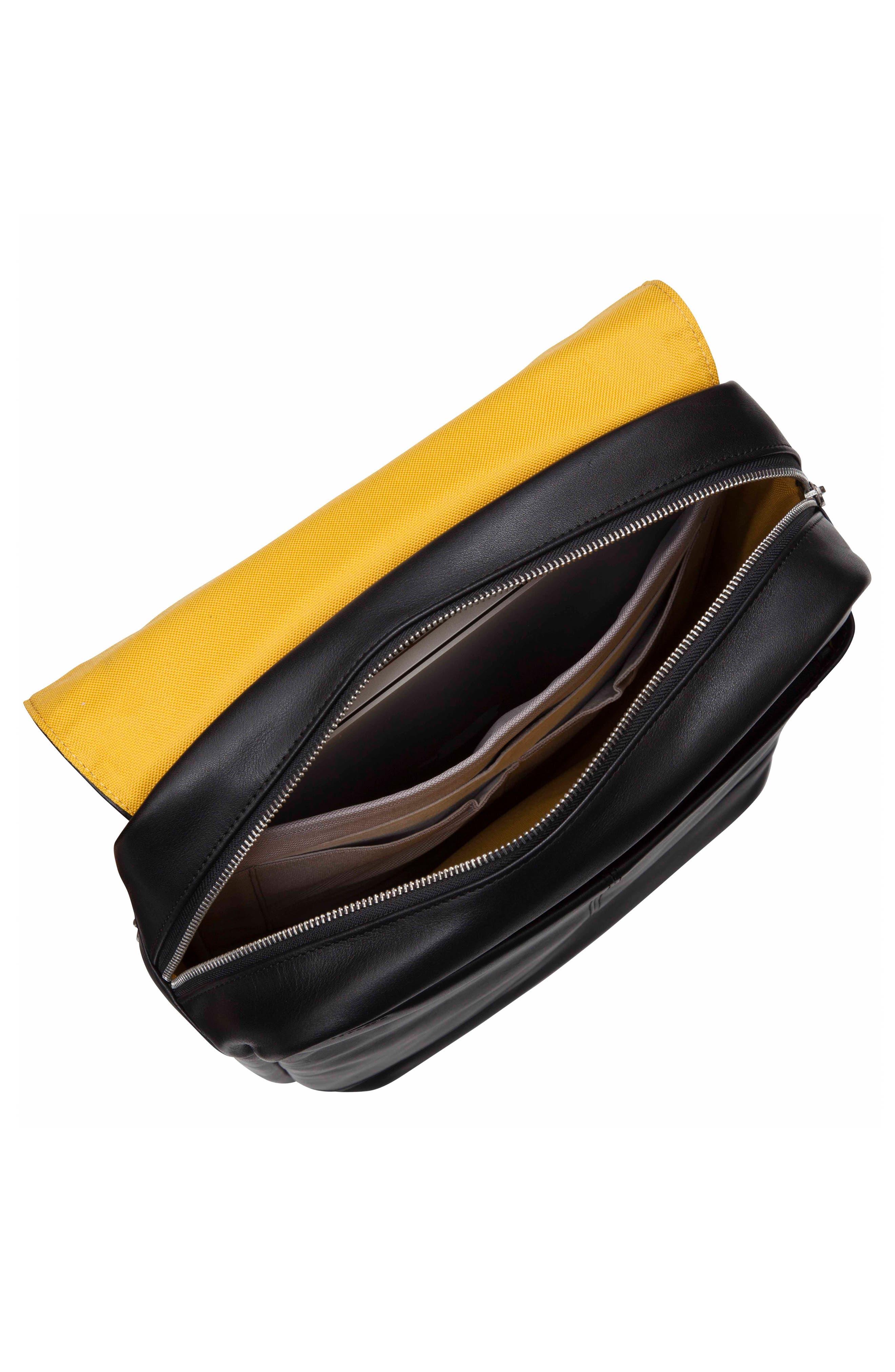 Alternate Image 3  - KNOMO London Brompton Hudson Leather Backpack