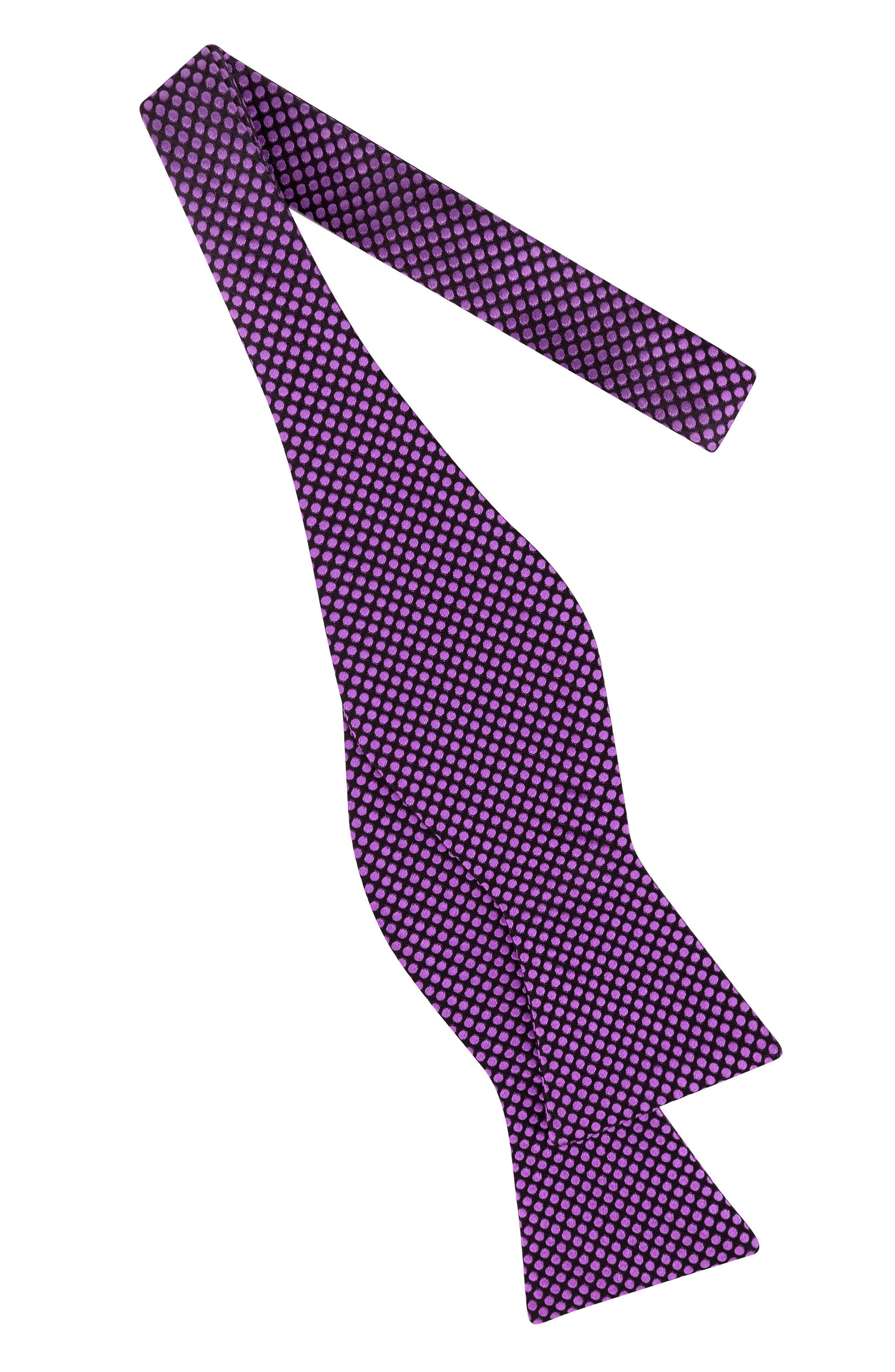 Alternate Image 2  - Ted Baker London Dot Silk Bow Tie