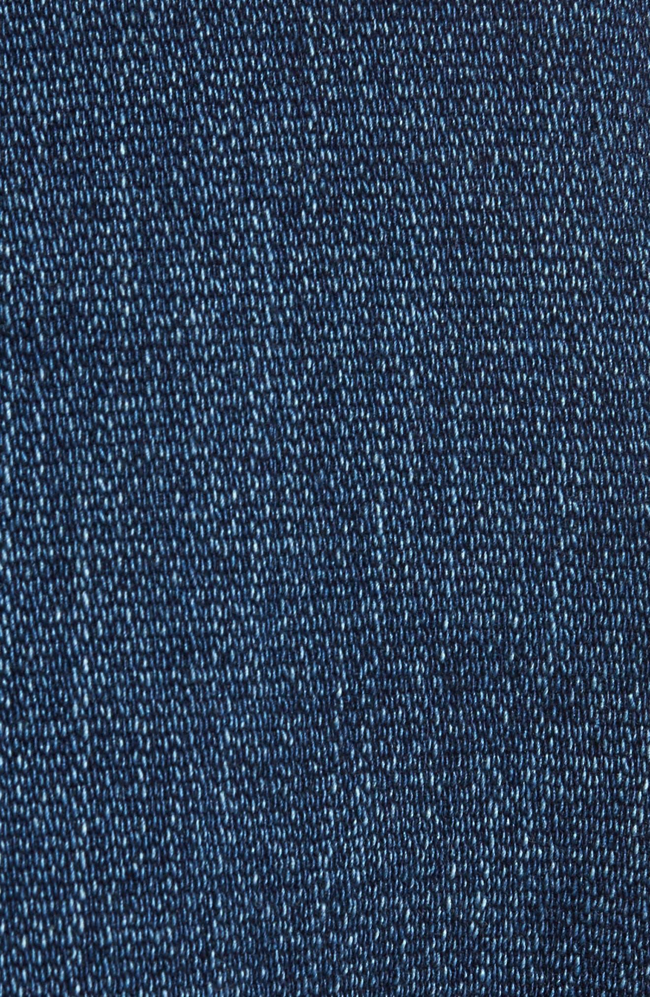 Ruth Denim Jacket,                             Alternate thumbnail 5, color,                             Anchor Blue