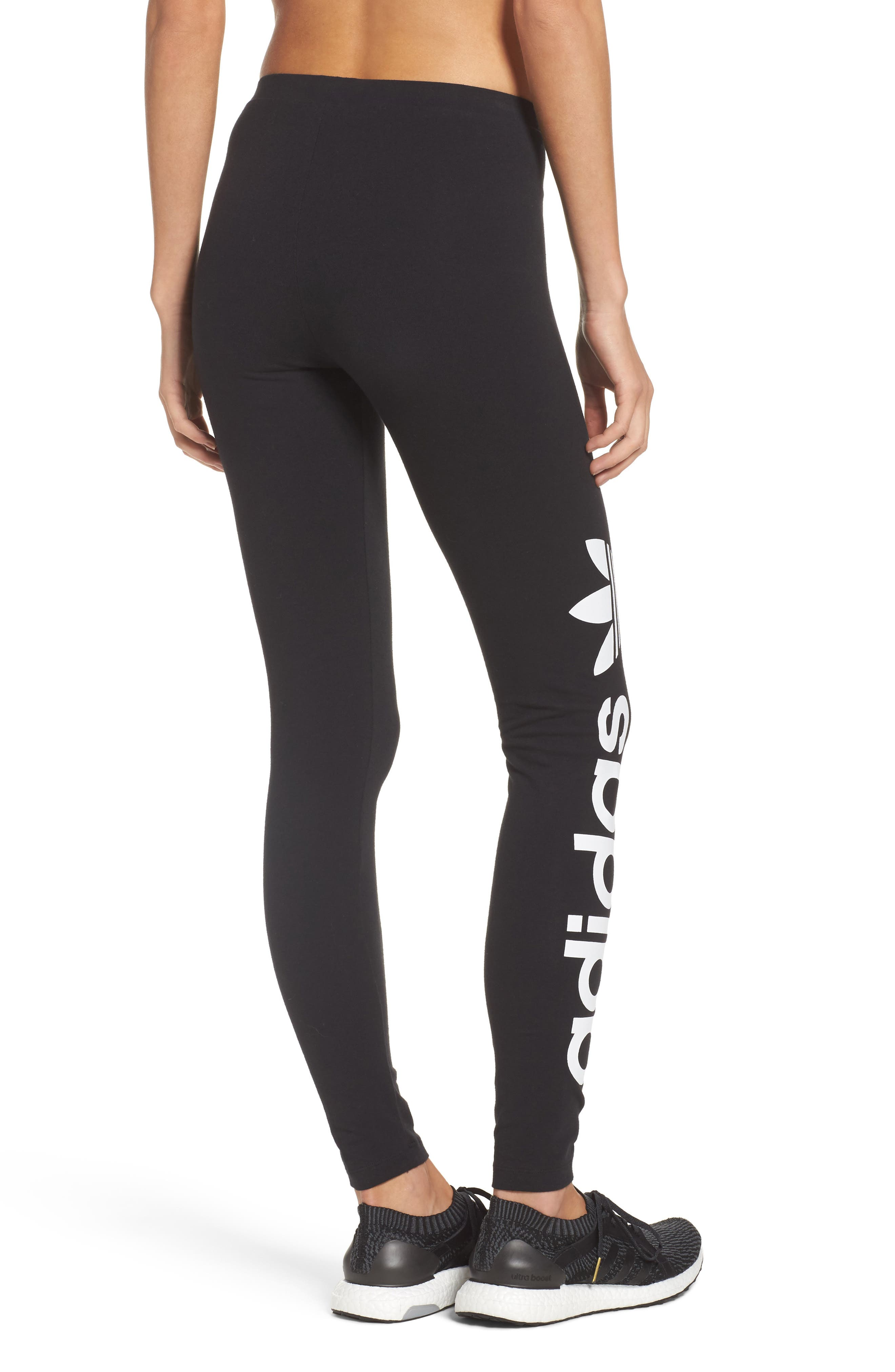 Alternate Image 2  - adidas Originals Linear Leggings
