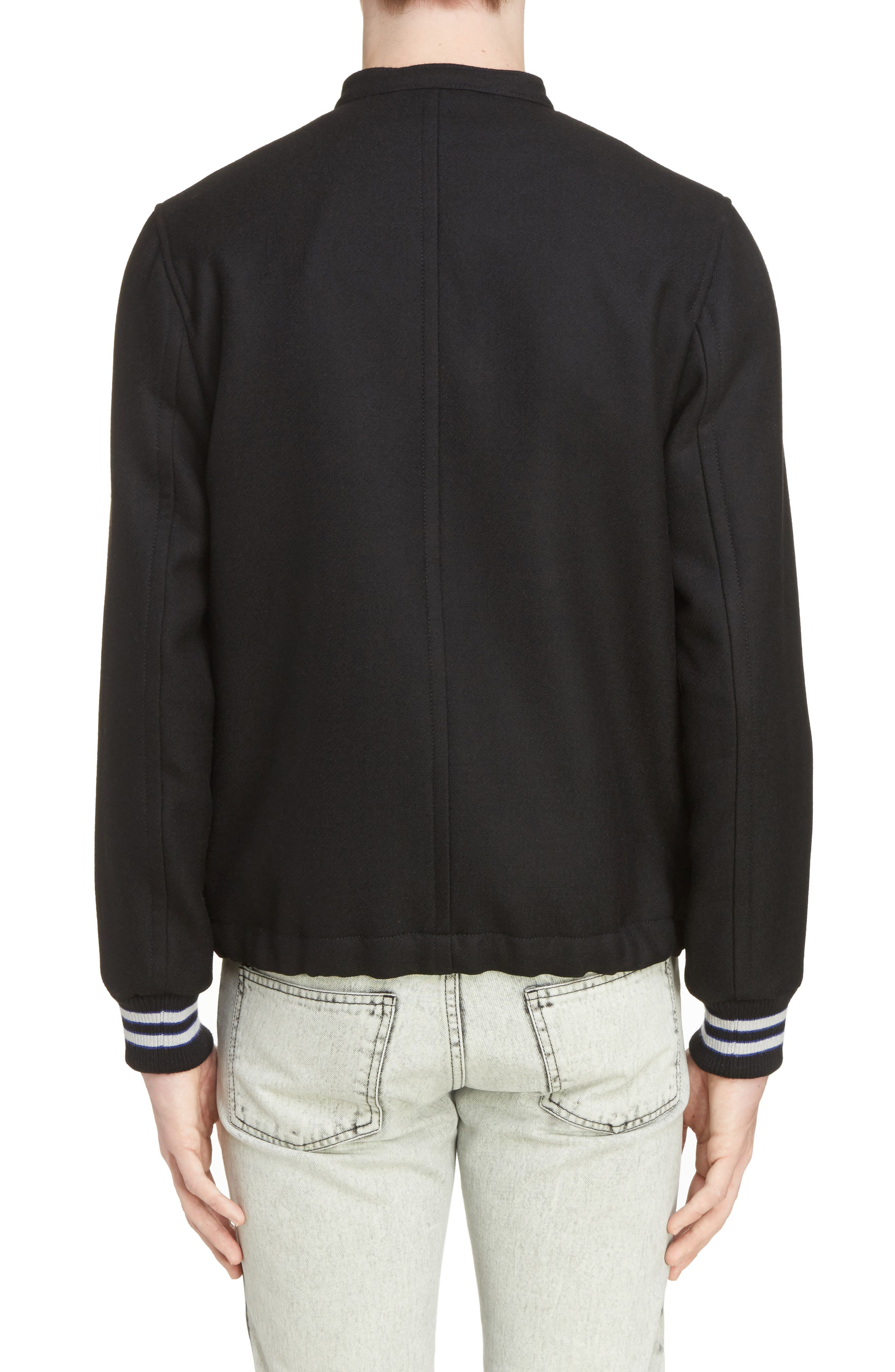 Alternate Image 2  - Lanvin Paradise Patch Bomber Jacket