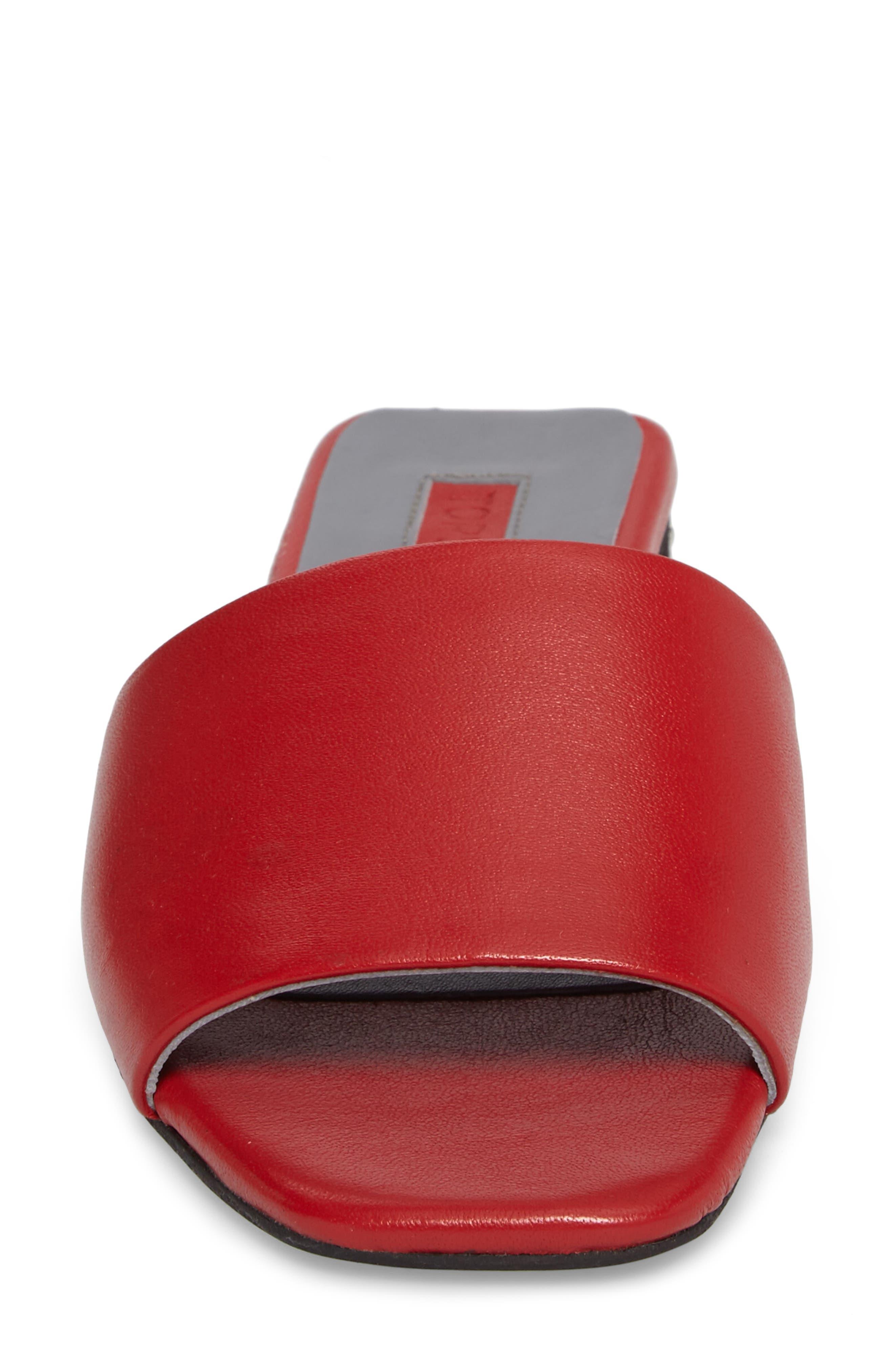 Alternate Image 4  - Topshop Fern Studded Slide Sandal (Women)