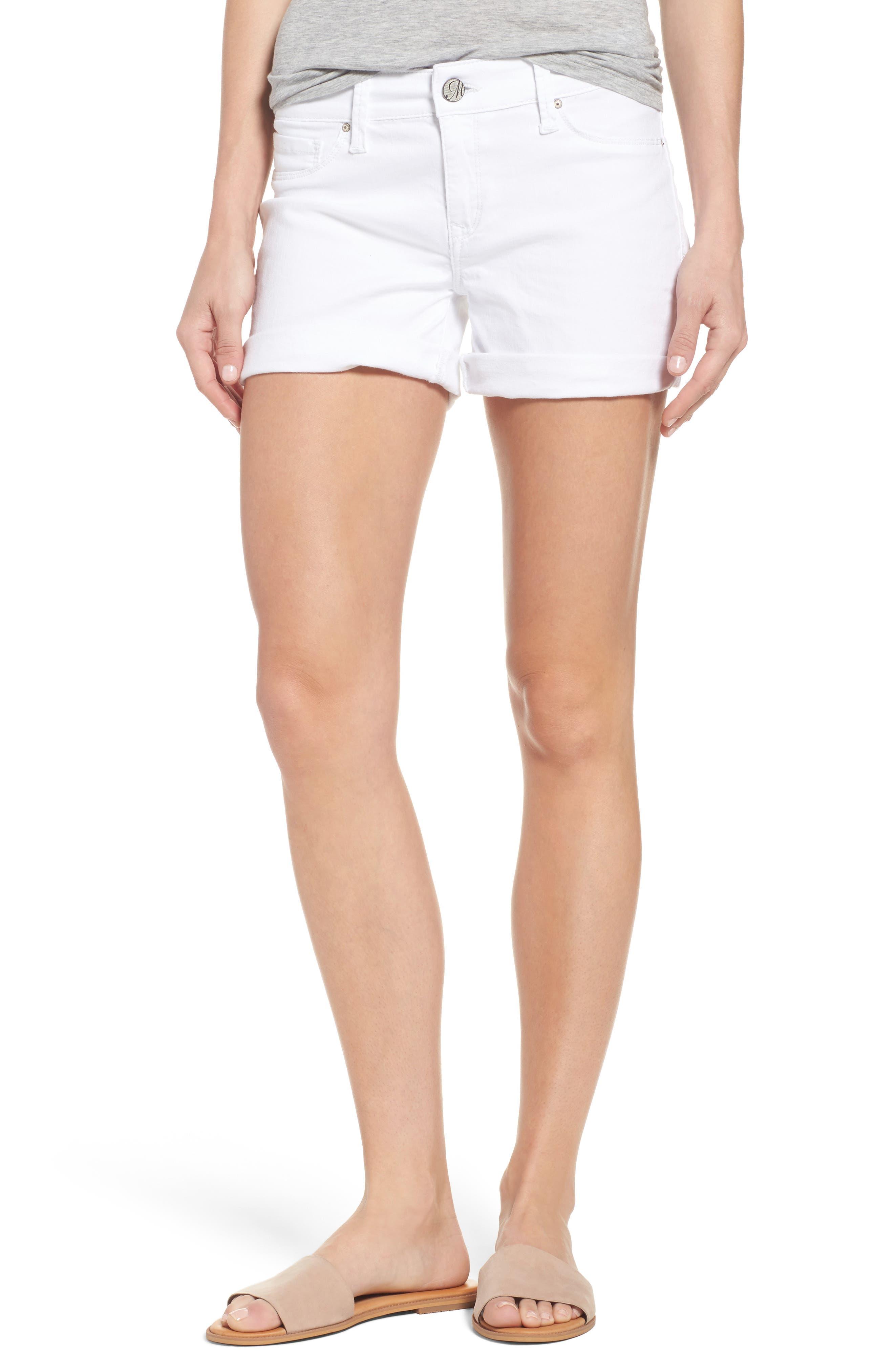MAVI JEANS Vanna Roll Cuff Denim Shorts