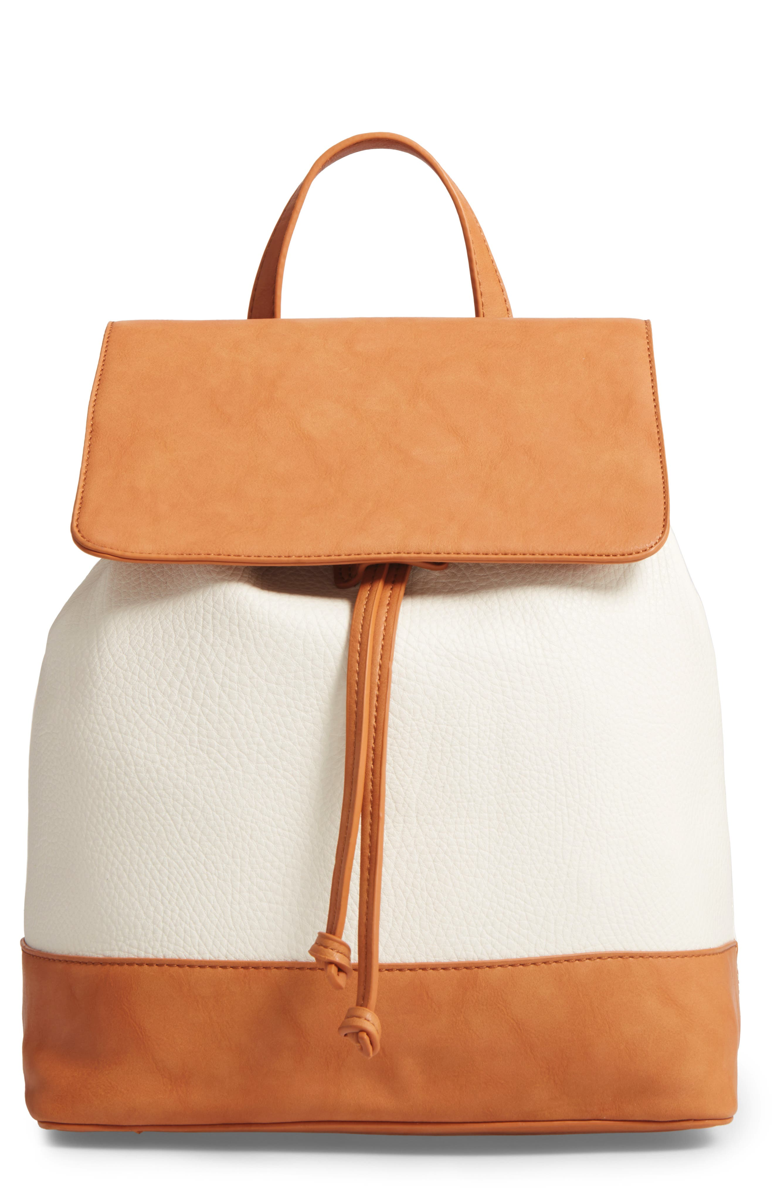 Alternate Image 1 Selected - Sole Society Kaili Two Tone Backpack