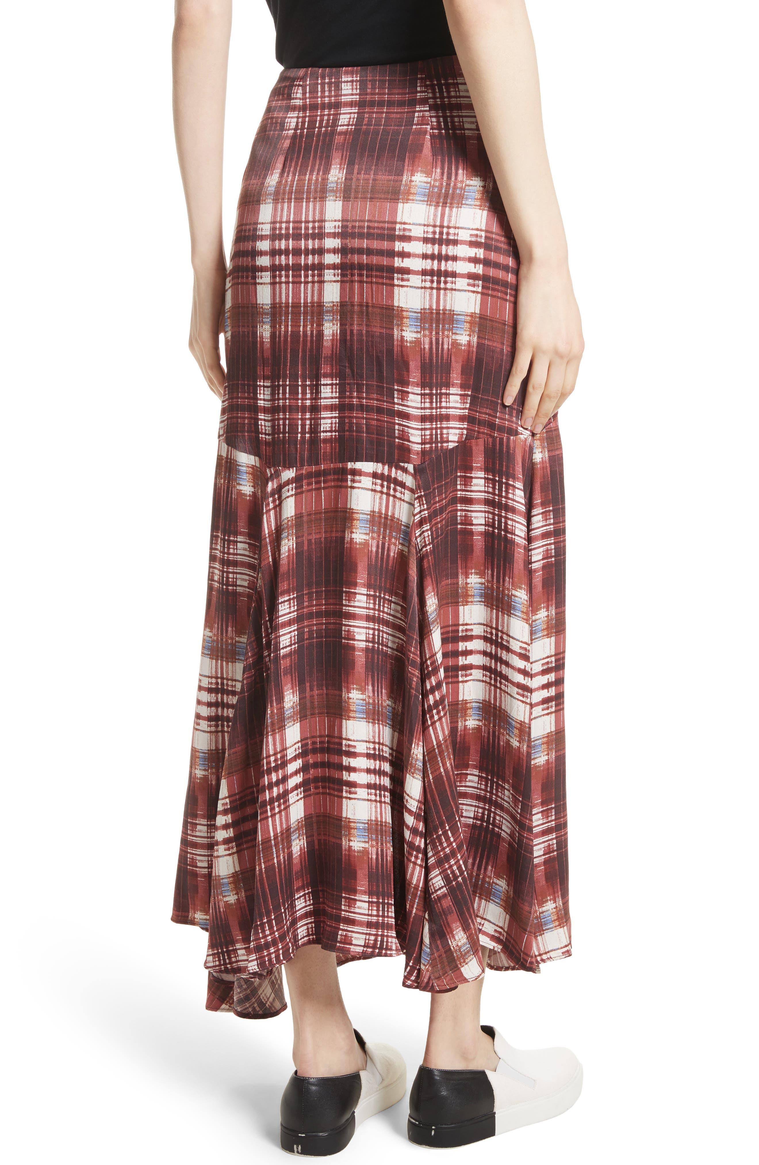 Alternate Image 2  - Free People Season of the Wind Midi Skirt
