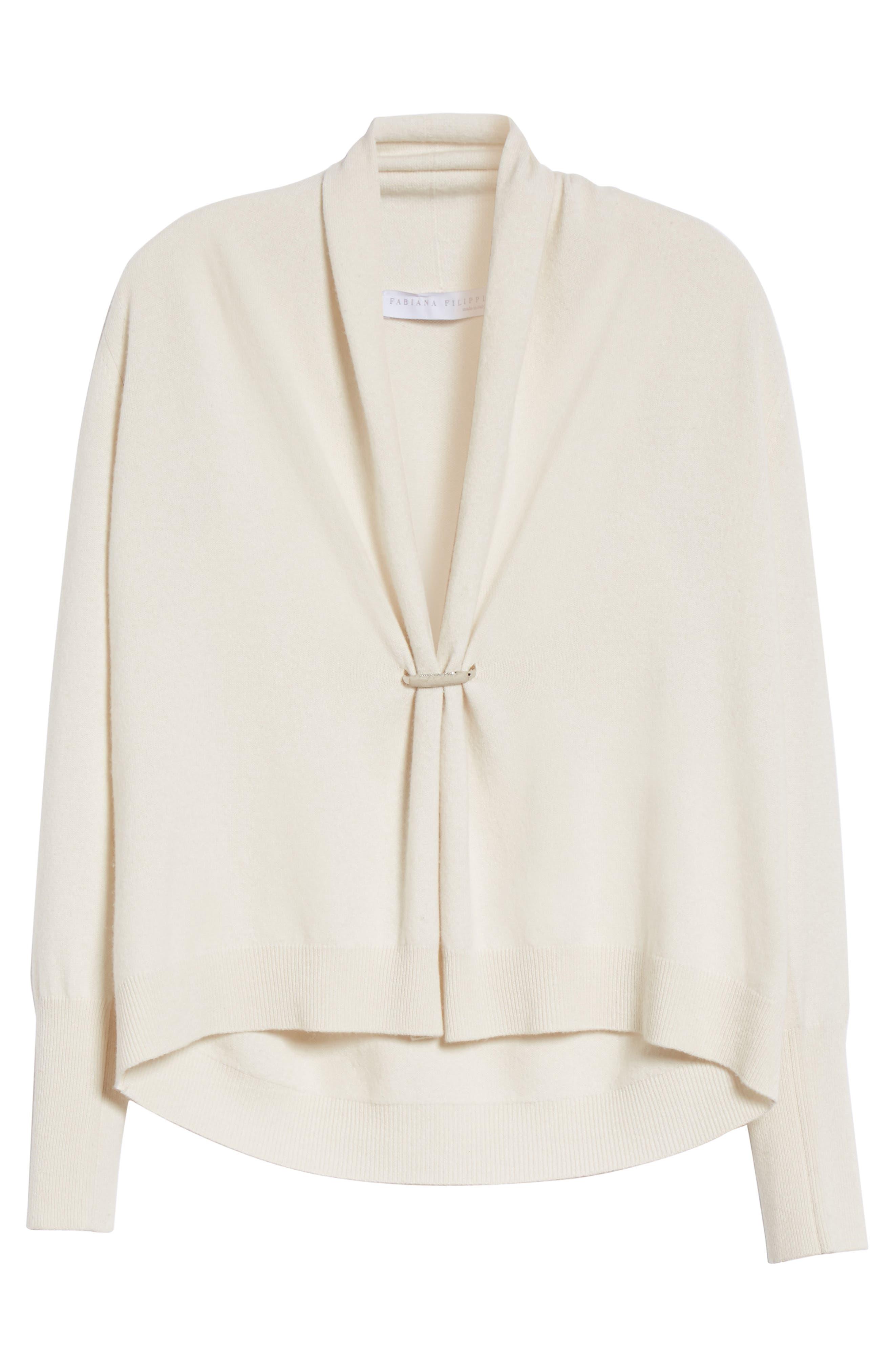 Alternate Image 4  - Fabiana Filippi Wool, Silk & Cashmere Shawl Collar Cardigan