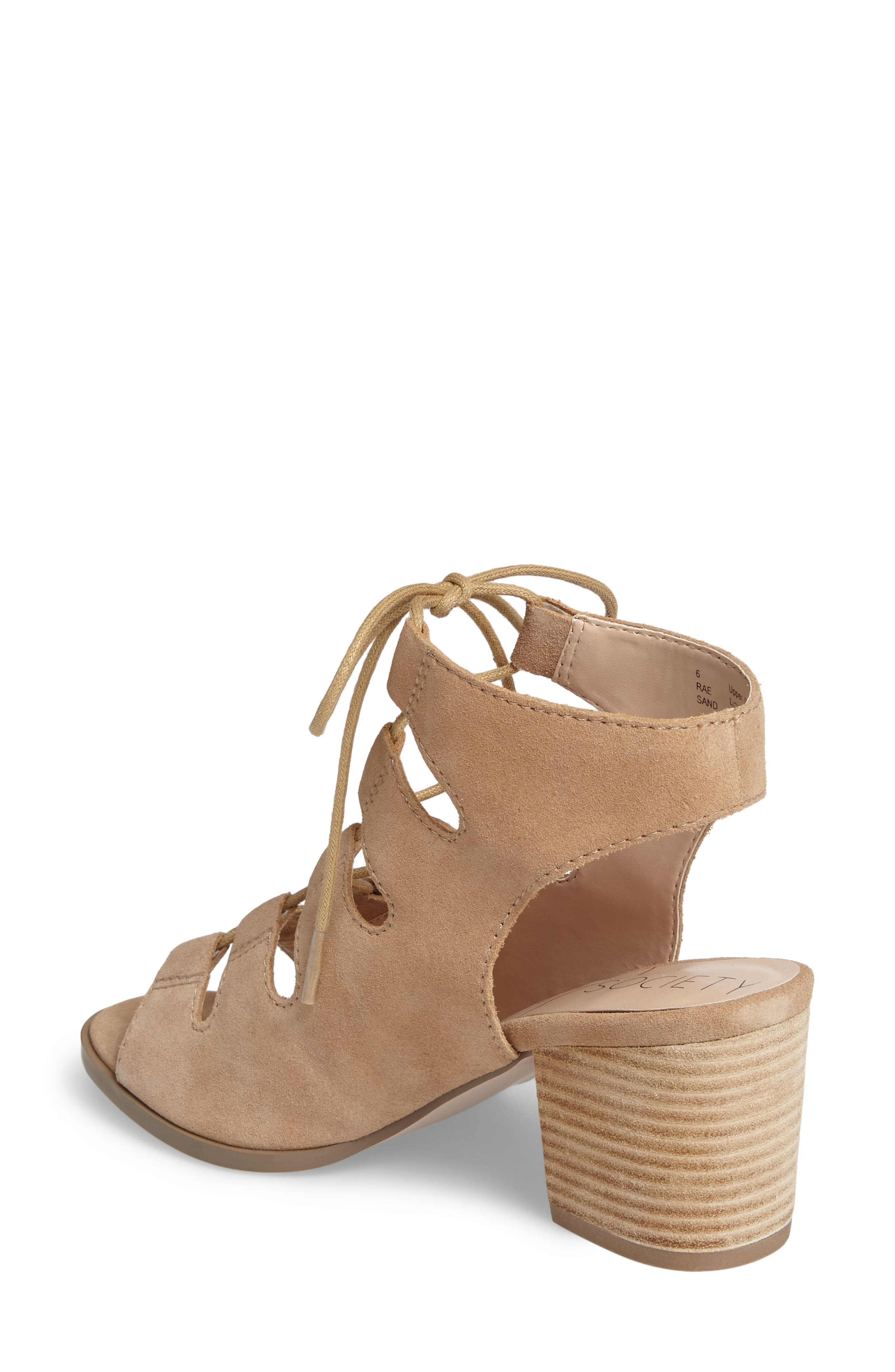 Alternate Image 2  - Sole Society Rae Block Heel Sandal (Women)