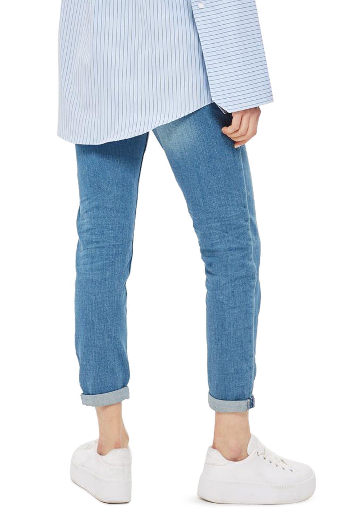 Alternate Image 2  - Topshop Lucas Boyfriend Jeans
