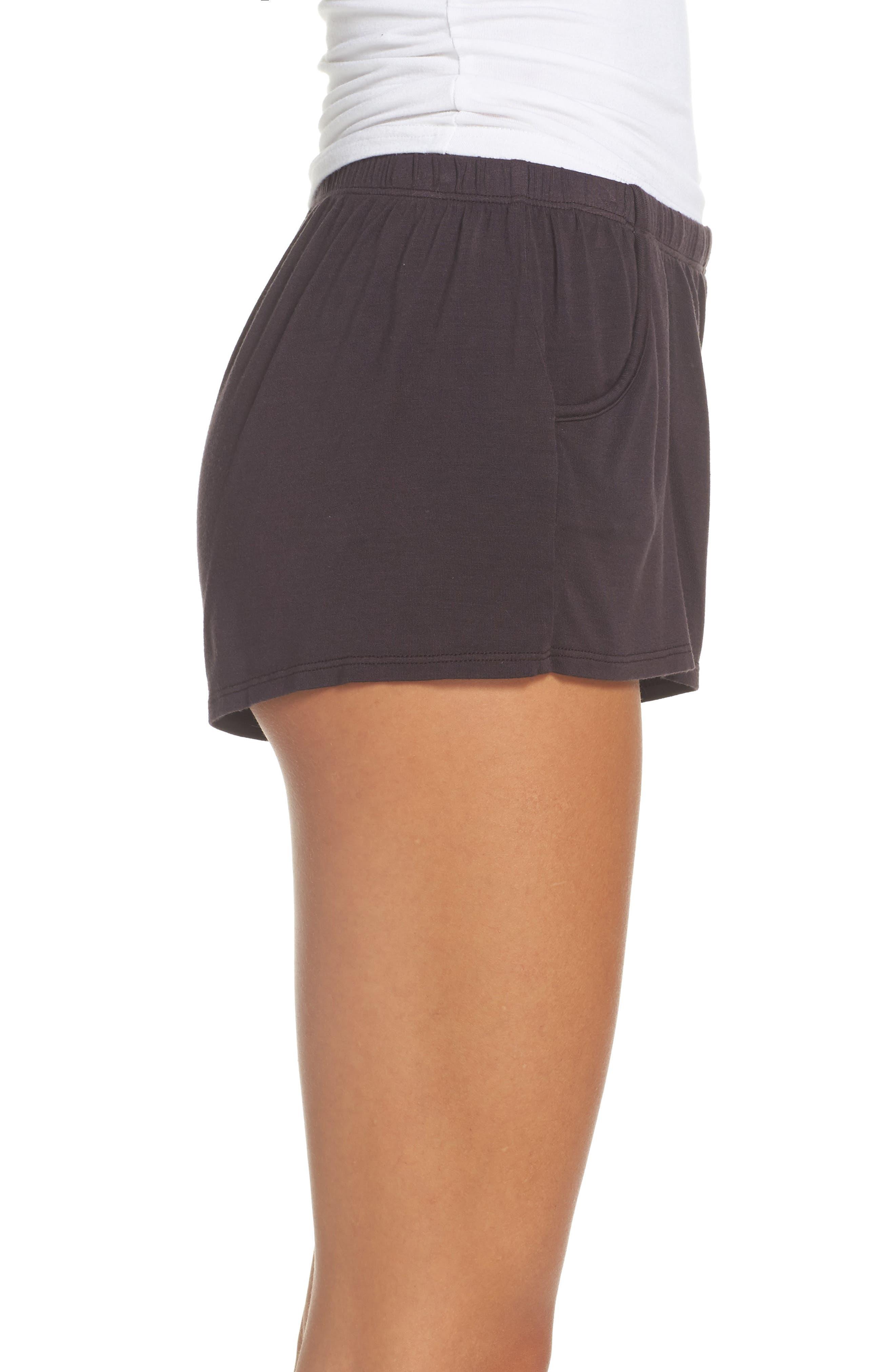 Alternate Image 3  - Olympia Theodora Tammy Lounge Shorts