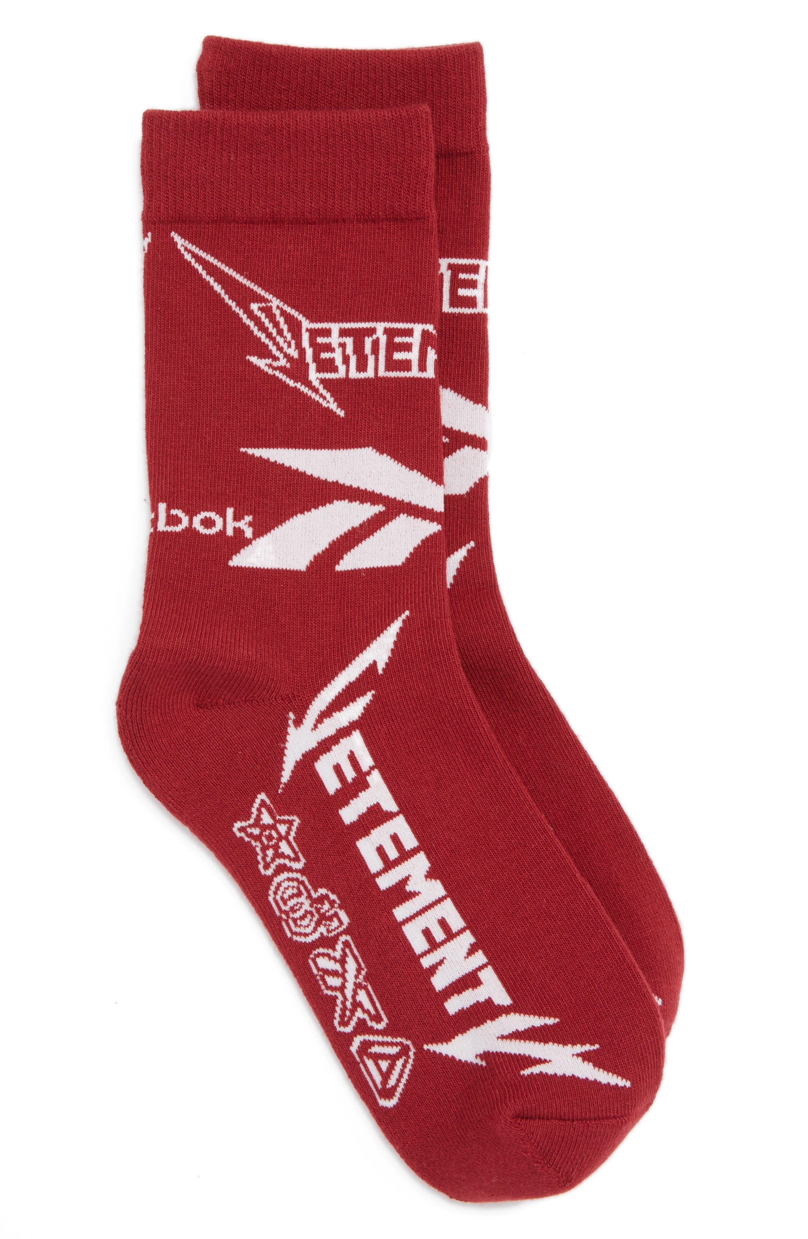Alternate Image 1 Selected - Vetements Metal Crew Socks