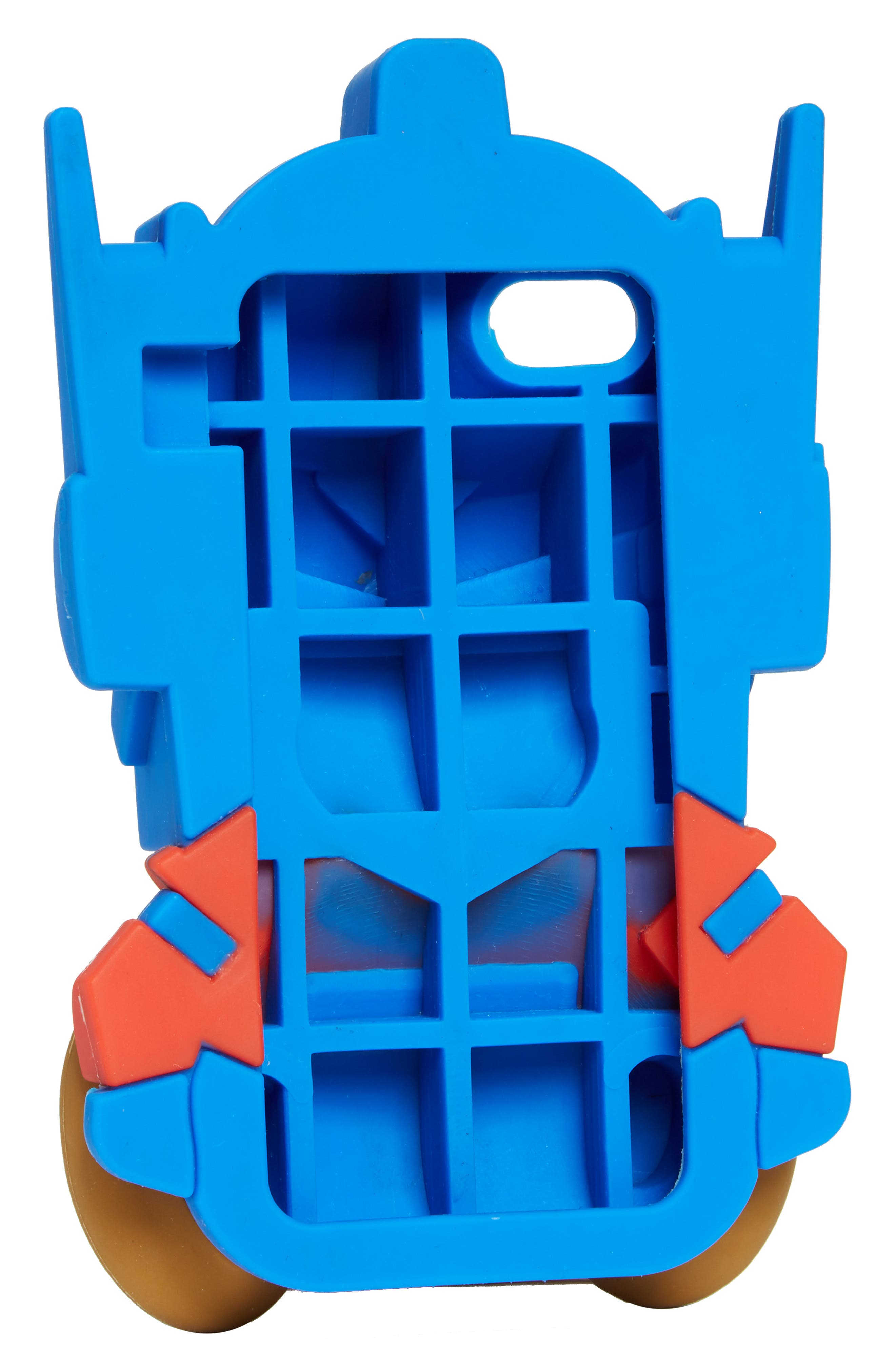 Transformer Bear iPhone 7 Case,                             Alternate thumbnail 2, color,                             Blue Multi