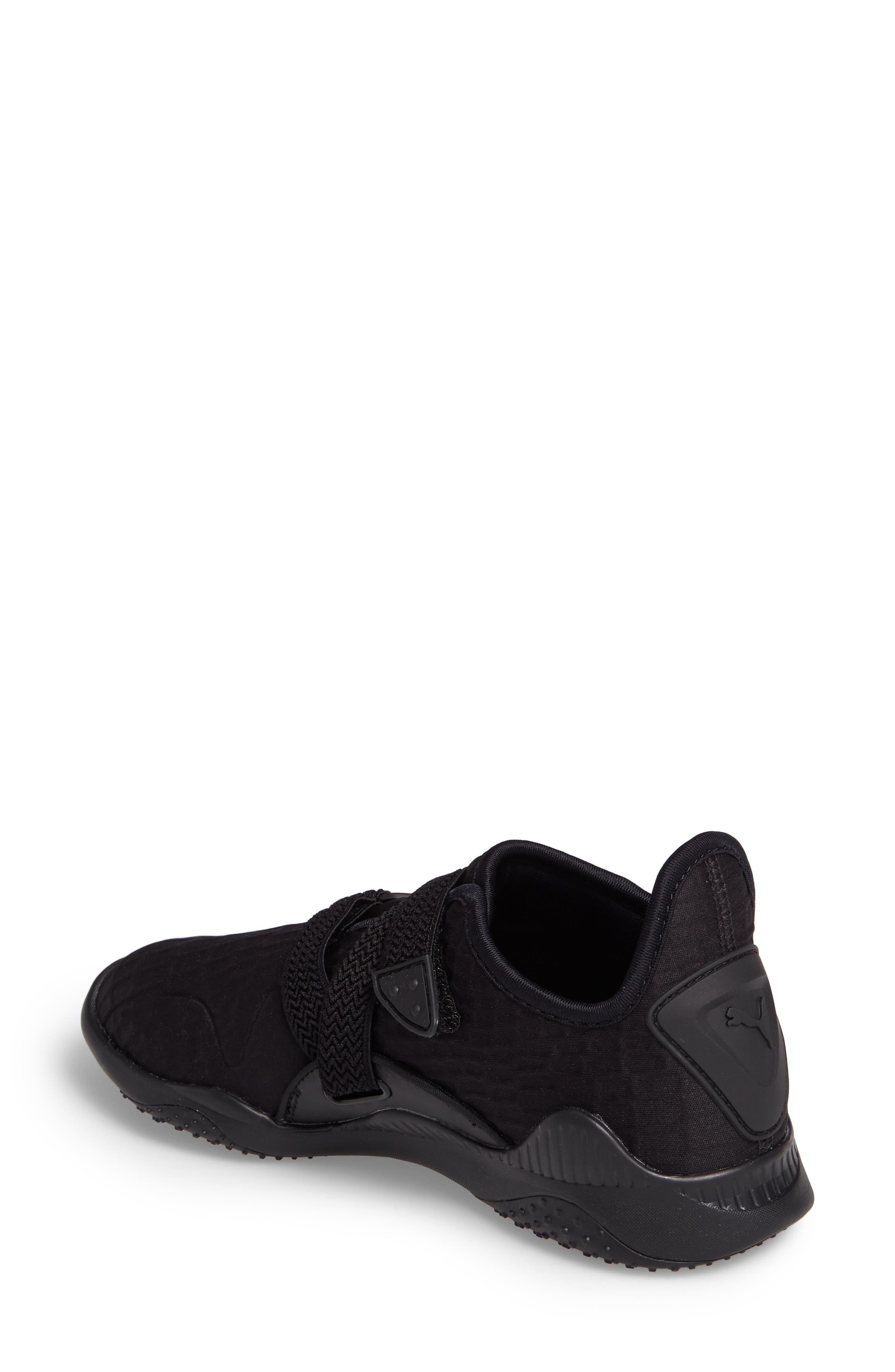 Mostro Fashion Sneaker,                             Alternate thumbnail 2, color,                             Puma Black/ Puma Black